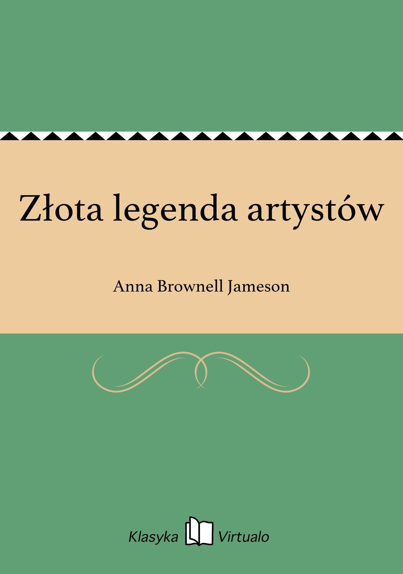 Złota legenda artystów - Ebook (Książka EPUB) do pobrania w formacie EPUB