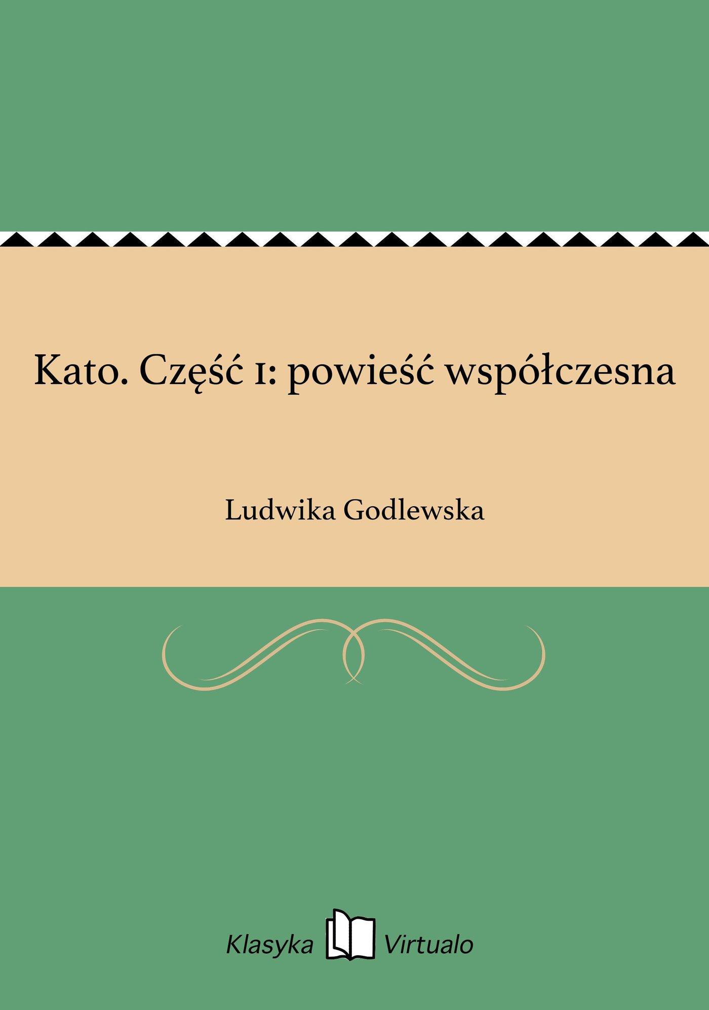 Kato. Część 1: powieść współczesna - Ebook (Książka EPUB) do pobrania w formacie EPUB