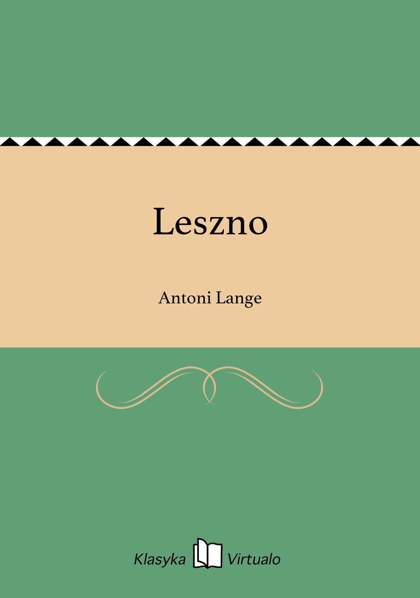 Leszno - Ebook (Książka EPUB) do pobrania w formacie EPUB