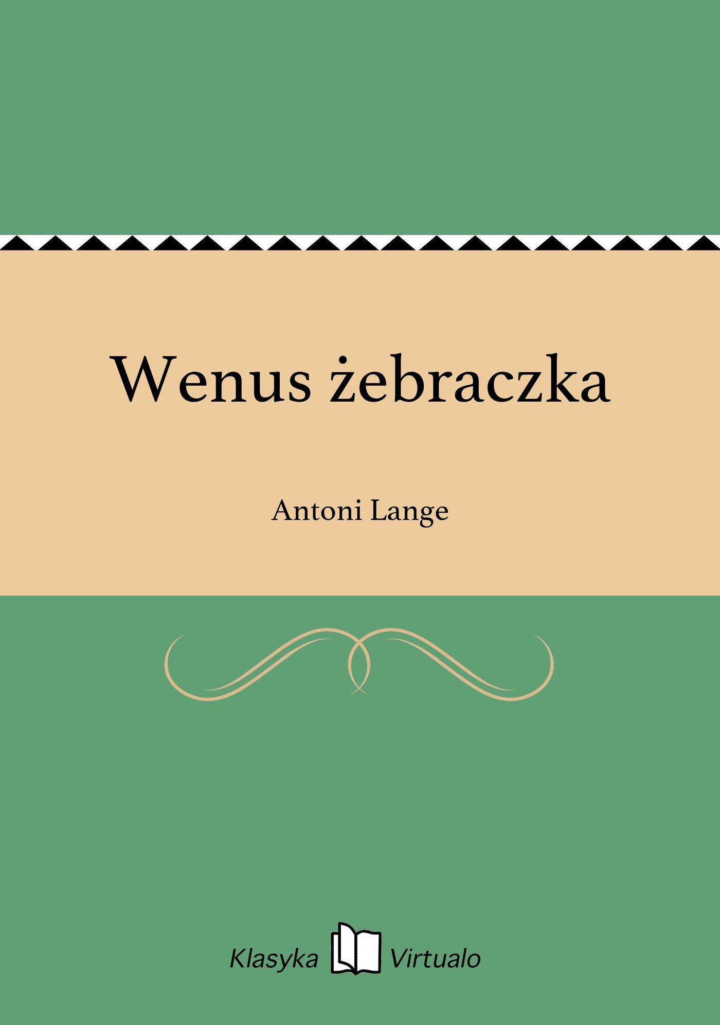 Wenus żebraczka - Ebook (Książka EPUB) do pobrania w formacie EPUB