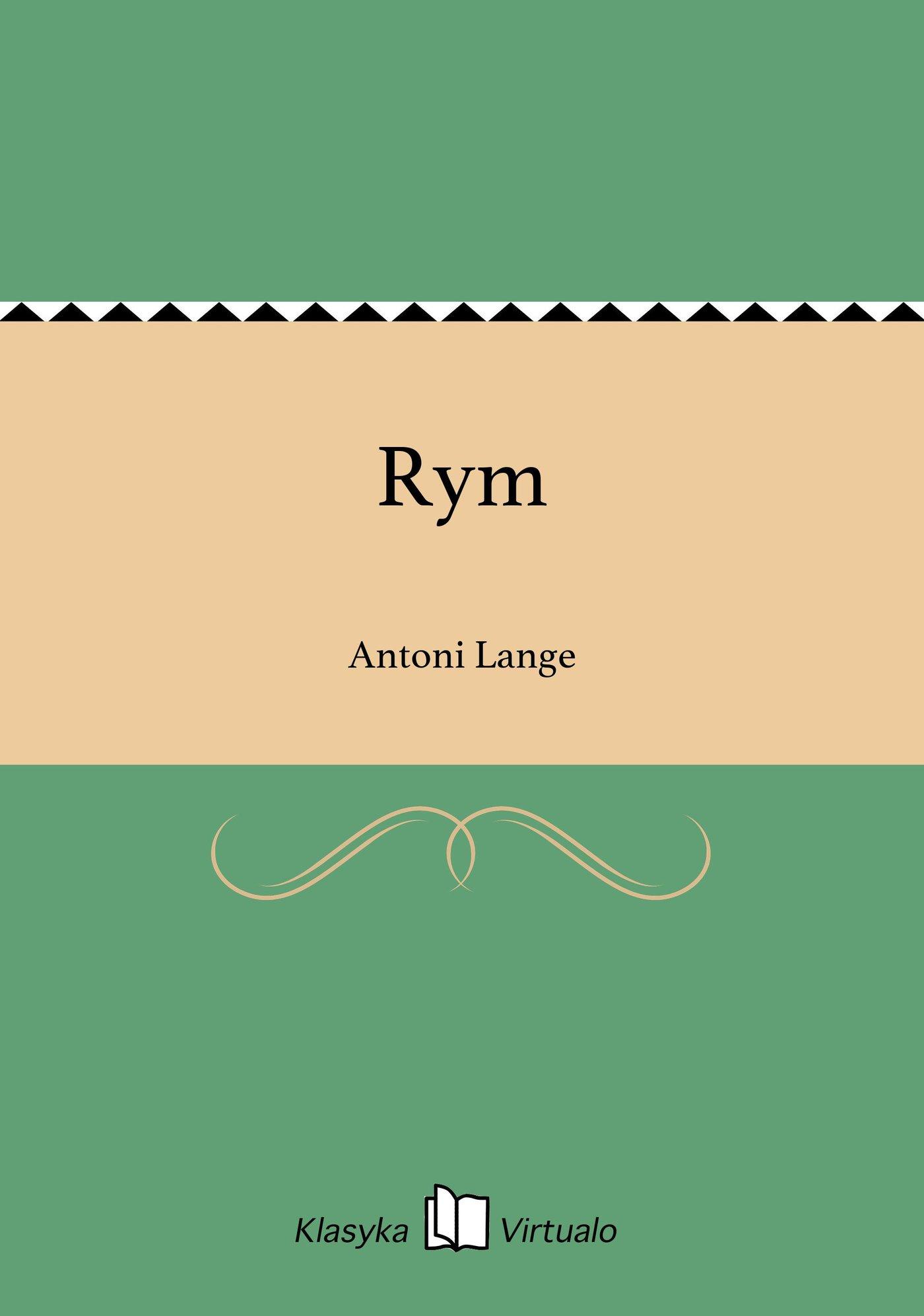 Rym - Ebook (Książka EPUB) do pobrania w formacie EPUB