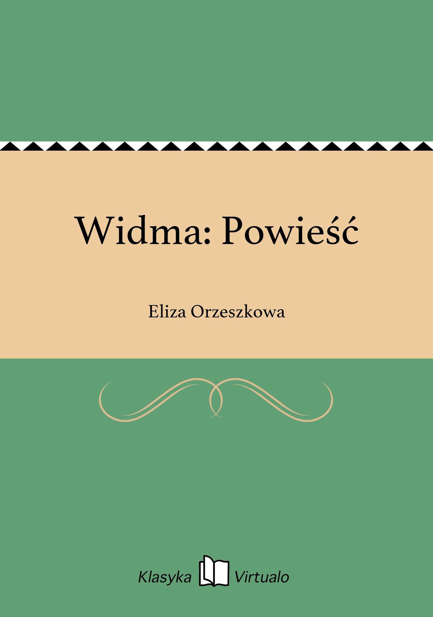 Widma: Powieść - Ebook (Książka EPUB) do pobrania w formacie EPUB