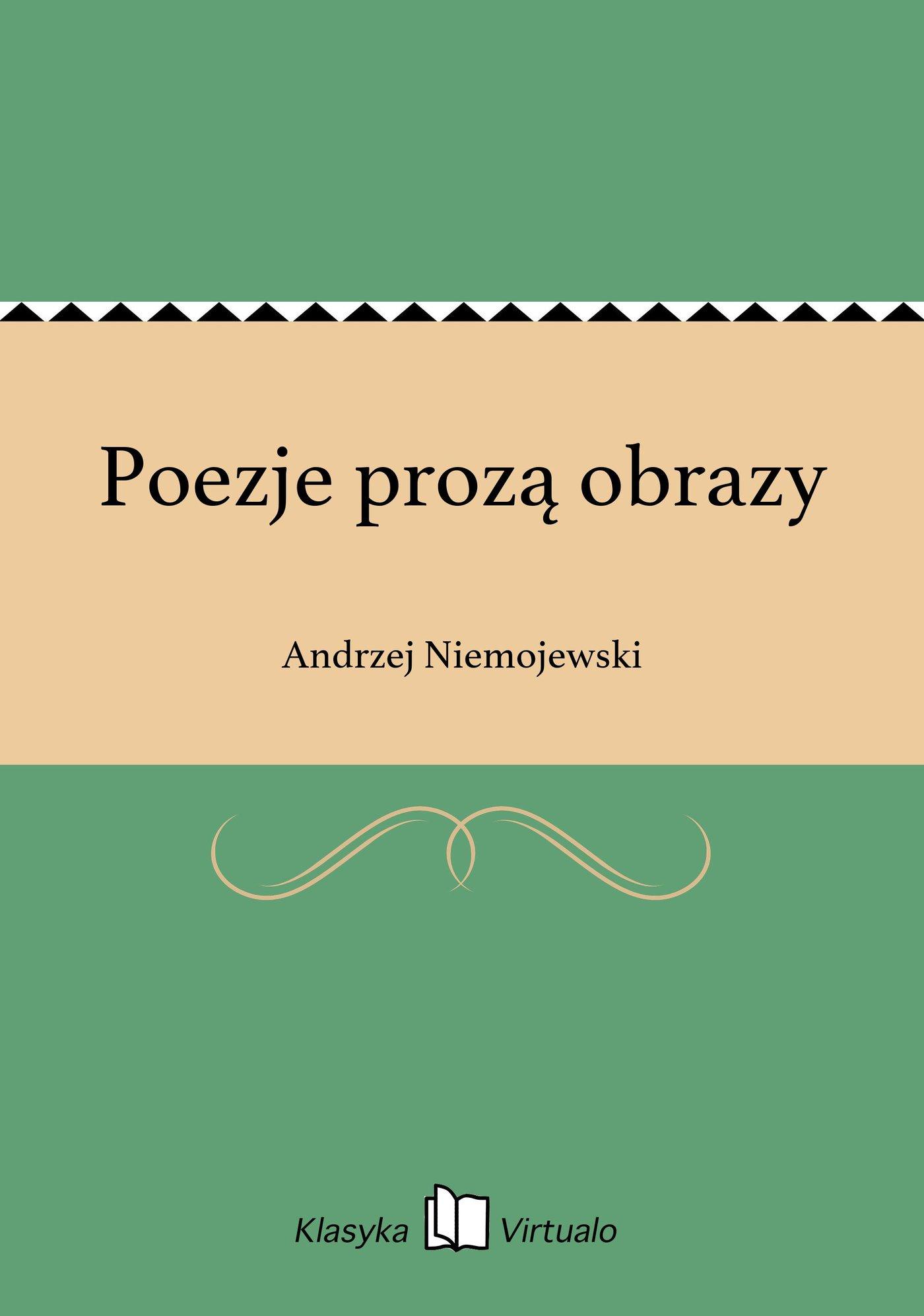 Poezje prozą obrazy - Ebook (Książka EPUB) do pobrania w formacie EPUB