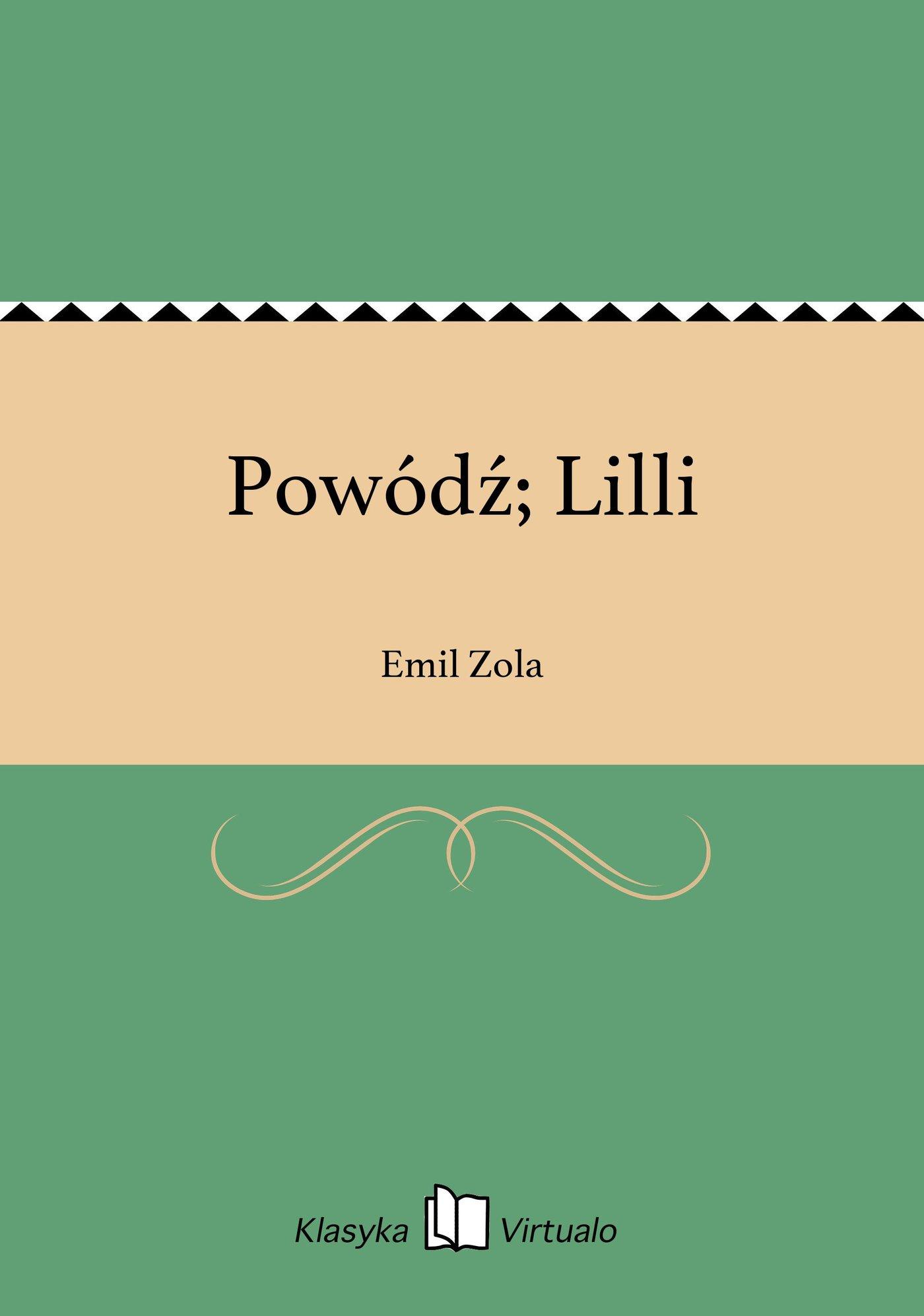 Powódź; Lilli - Ebook (Książka EPUB) do pobrania w formacie EPUB