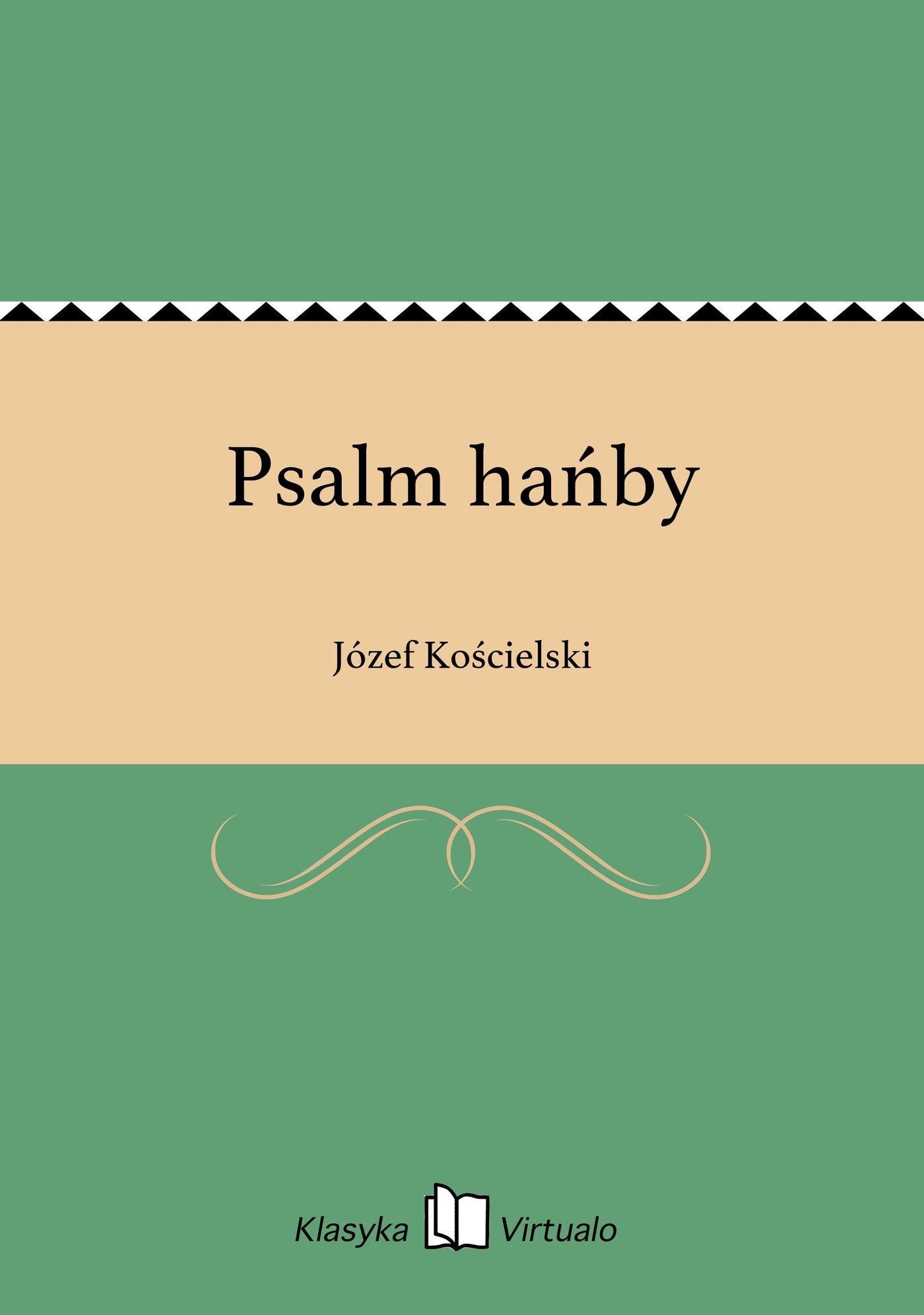 Psalm hańby - Ebook (Książka EPUB) do pobrania w formacie EPUB