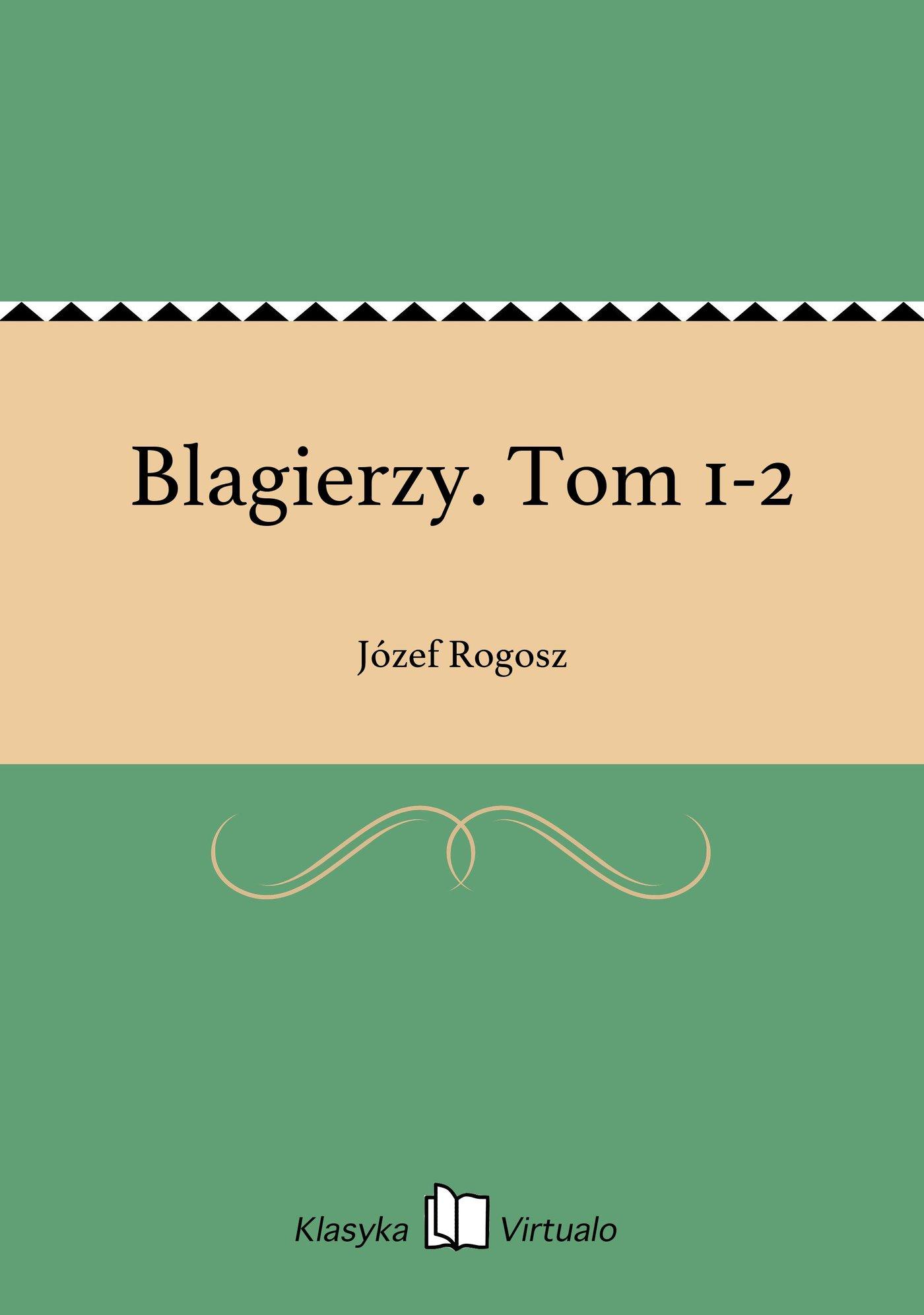 Blagierzy. Tom 1-2 - Ebook (Książka EPUB) do pobrania w formacie EPUB