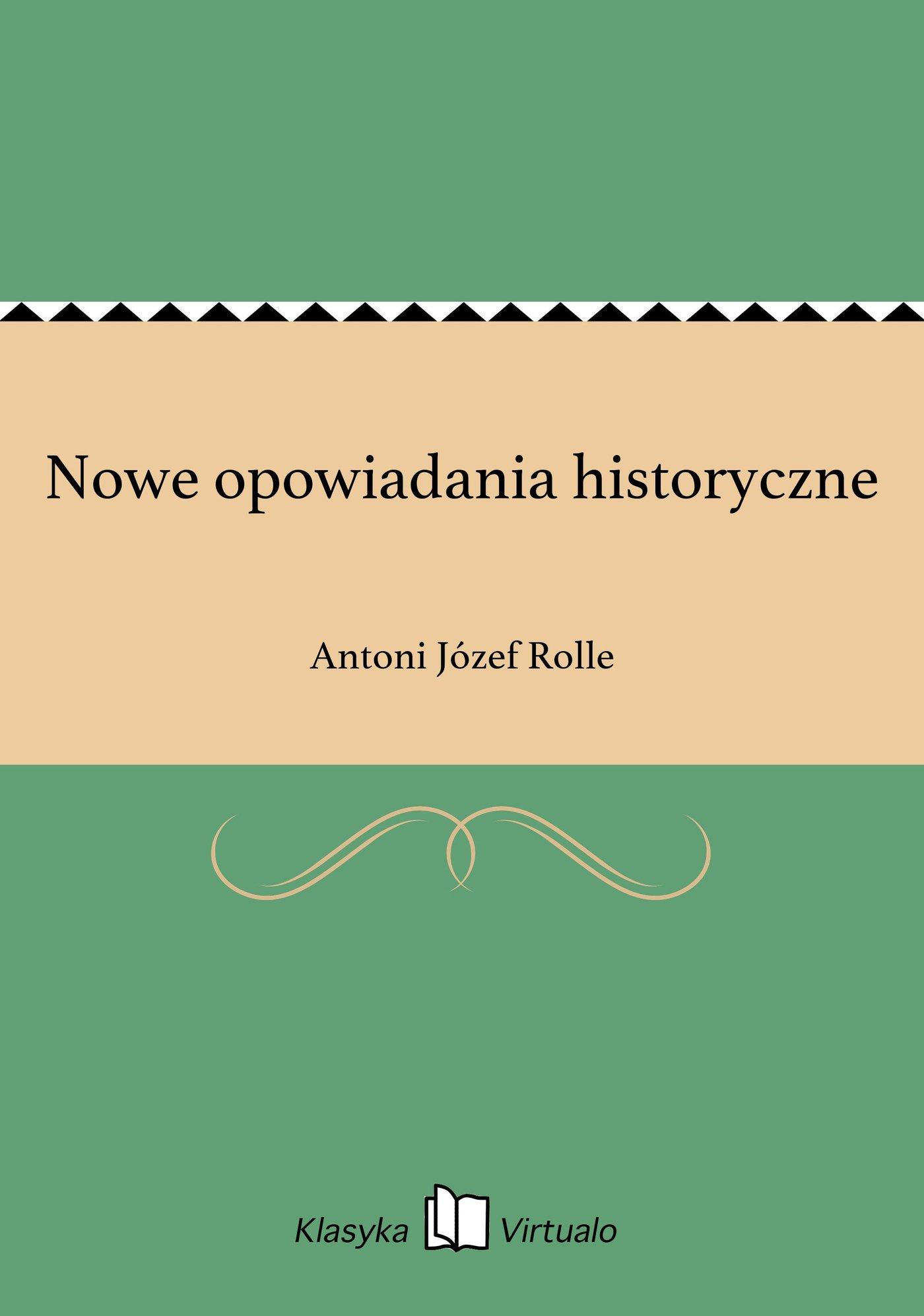 Nowe opowiadania historyczne - Ebook (Książka EPUB) do pobrania w formacie EPUB