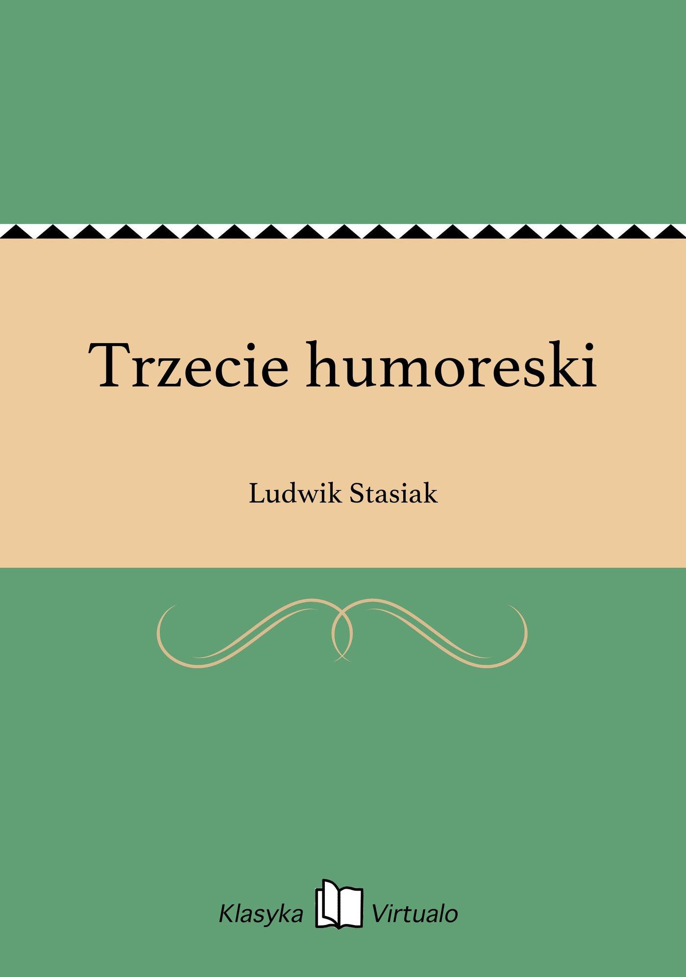 Trzecie humoreski - Ebook (Książka EPUB) do pobrania w formacie EPUB