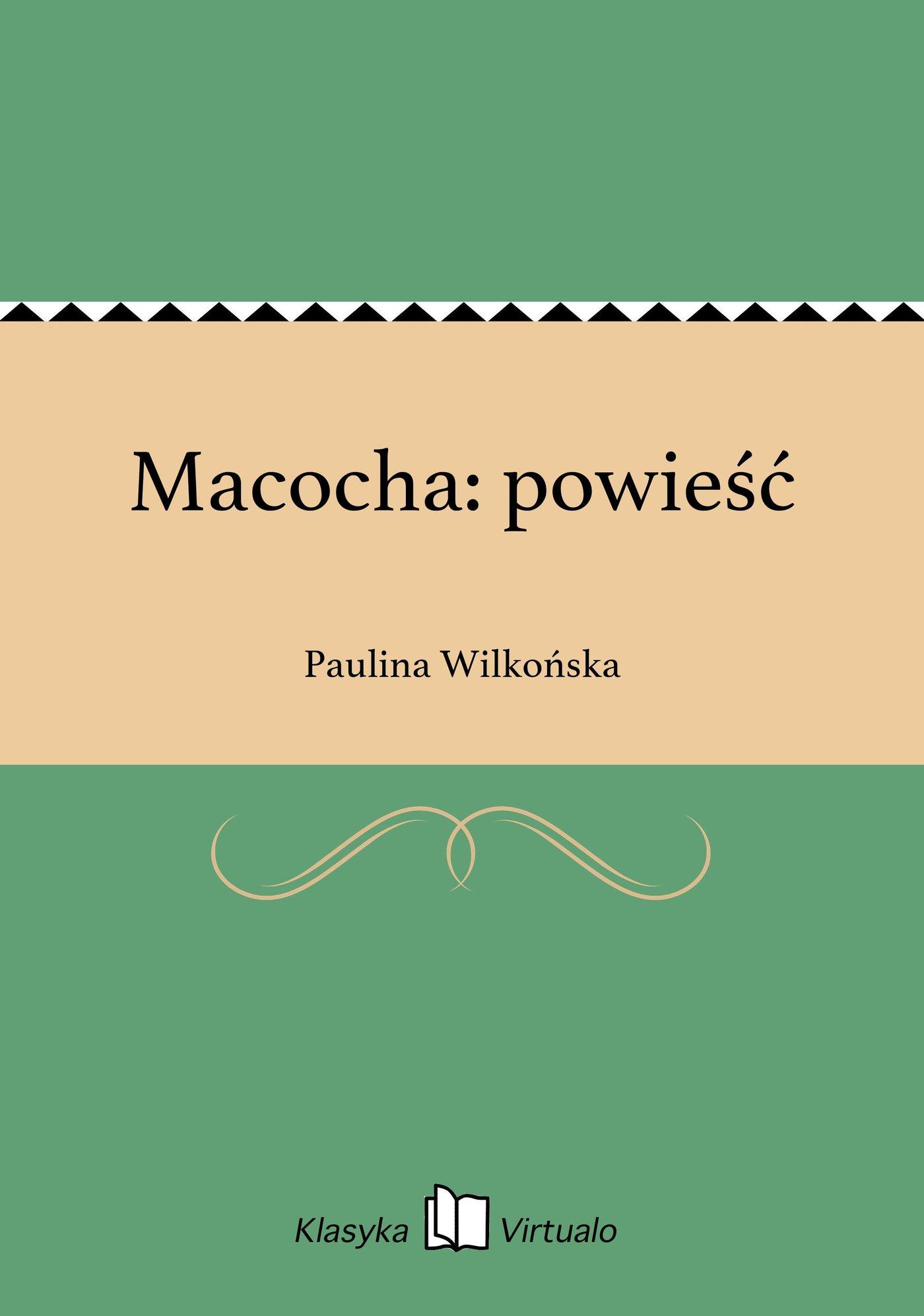 Macocha: powieść - Ebook (Książka EPUB) do pobrania w formacie EPUB