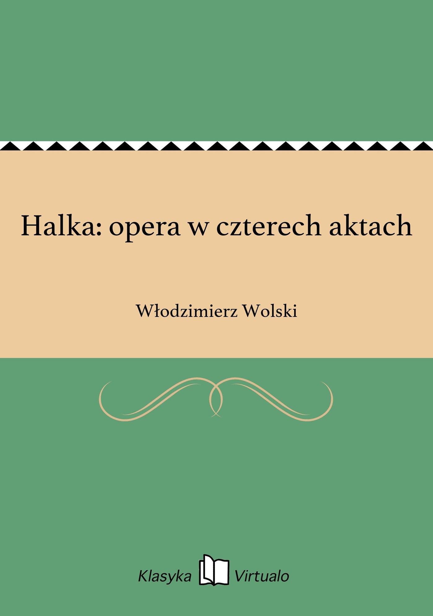 Halka: opera w czterech aktach - Ebook (Książka EPUB) do pobrania w formacie EPUB