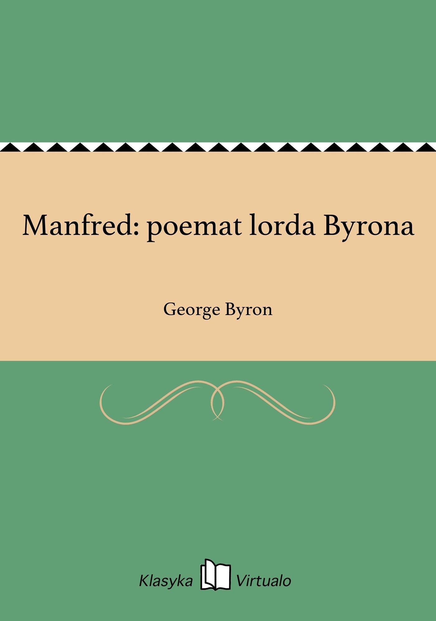 Manfred: poemat lorda Byrona - Ebook (Książka EPUB) do pobrania w formacie EPUB