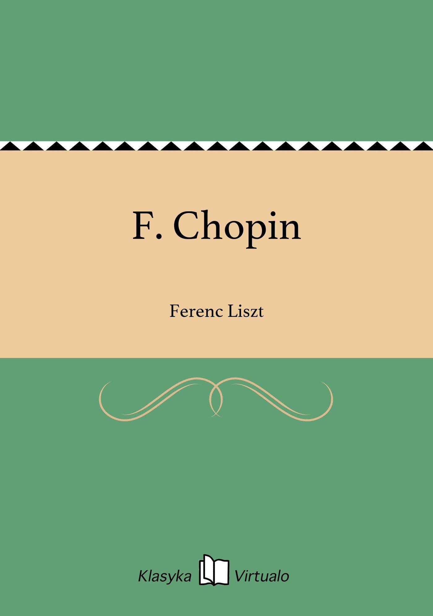 F. Chopin - Ebook (Książka EPUB) do pobrania w formacie EPUB
