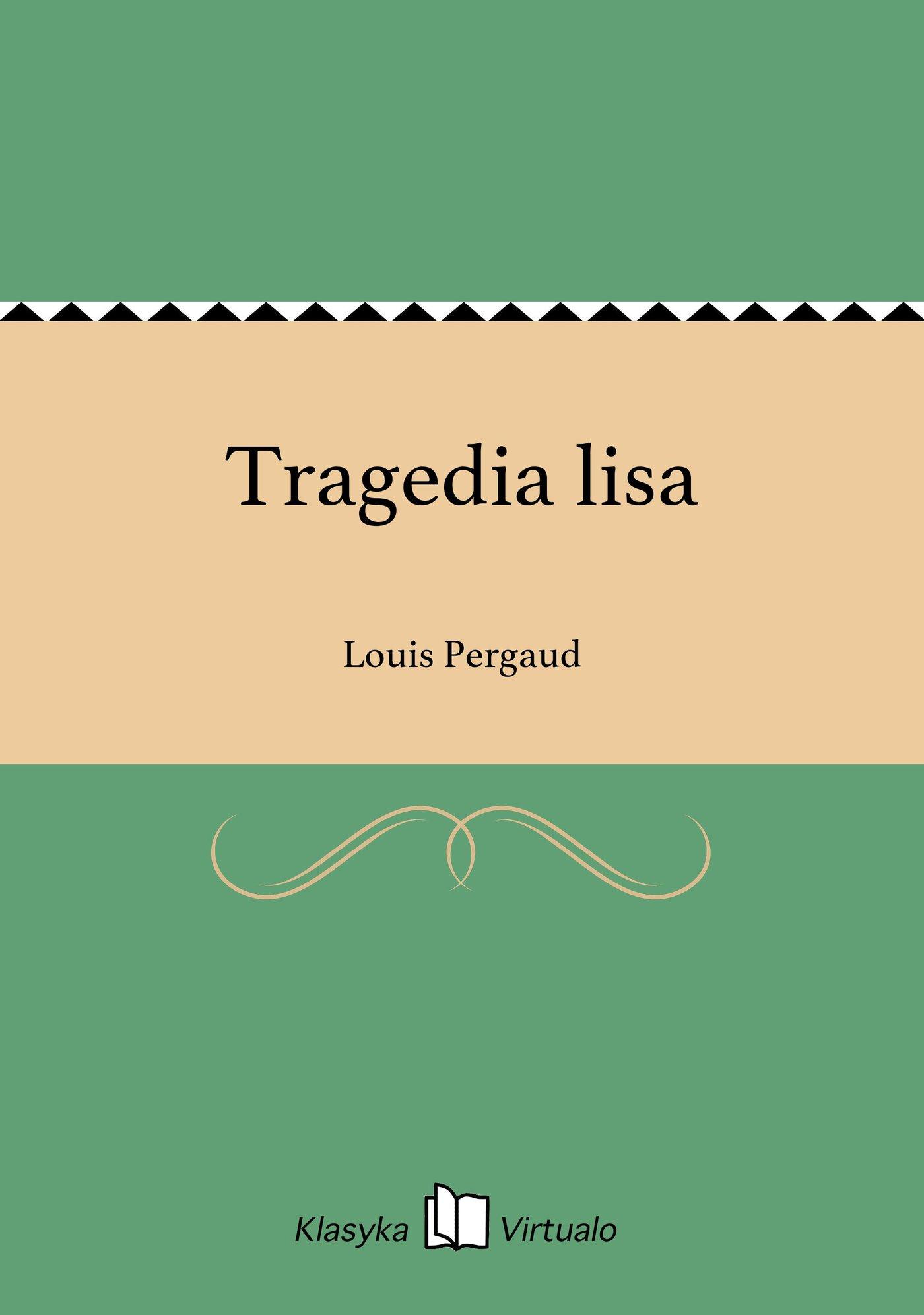 Tragedia lisa - Ebook (Książka EPUB) do pobrania w formacie EPUB
