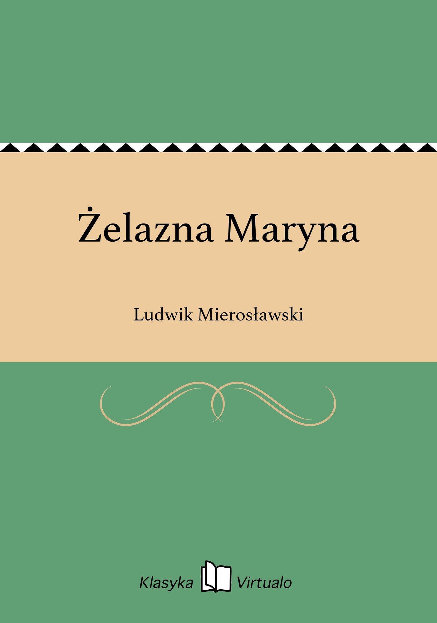 Żelazna Maryna - Ebook (Książka EPUB) do pobrania w formacie EPUB