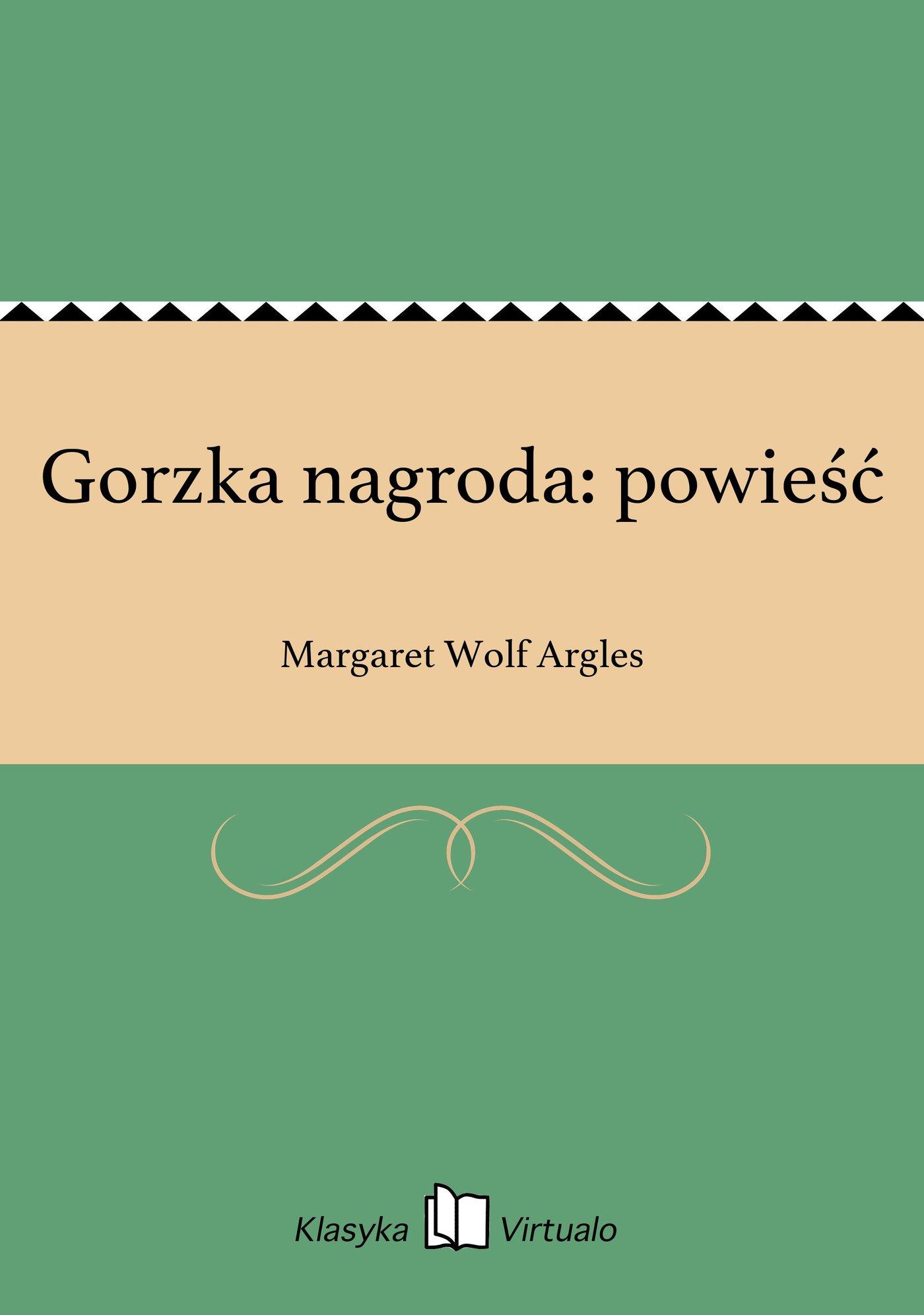 Gorzka nagroda: powieść - Ebook (Książka EPUB) do pobrania w formacie EPUB