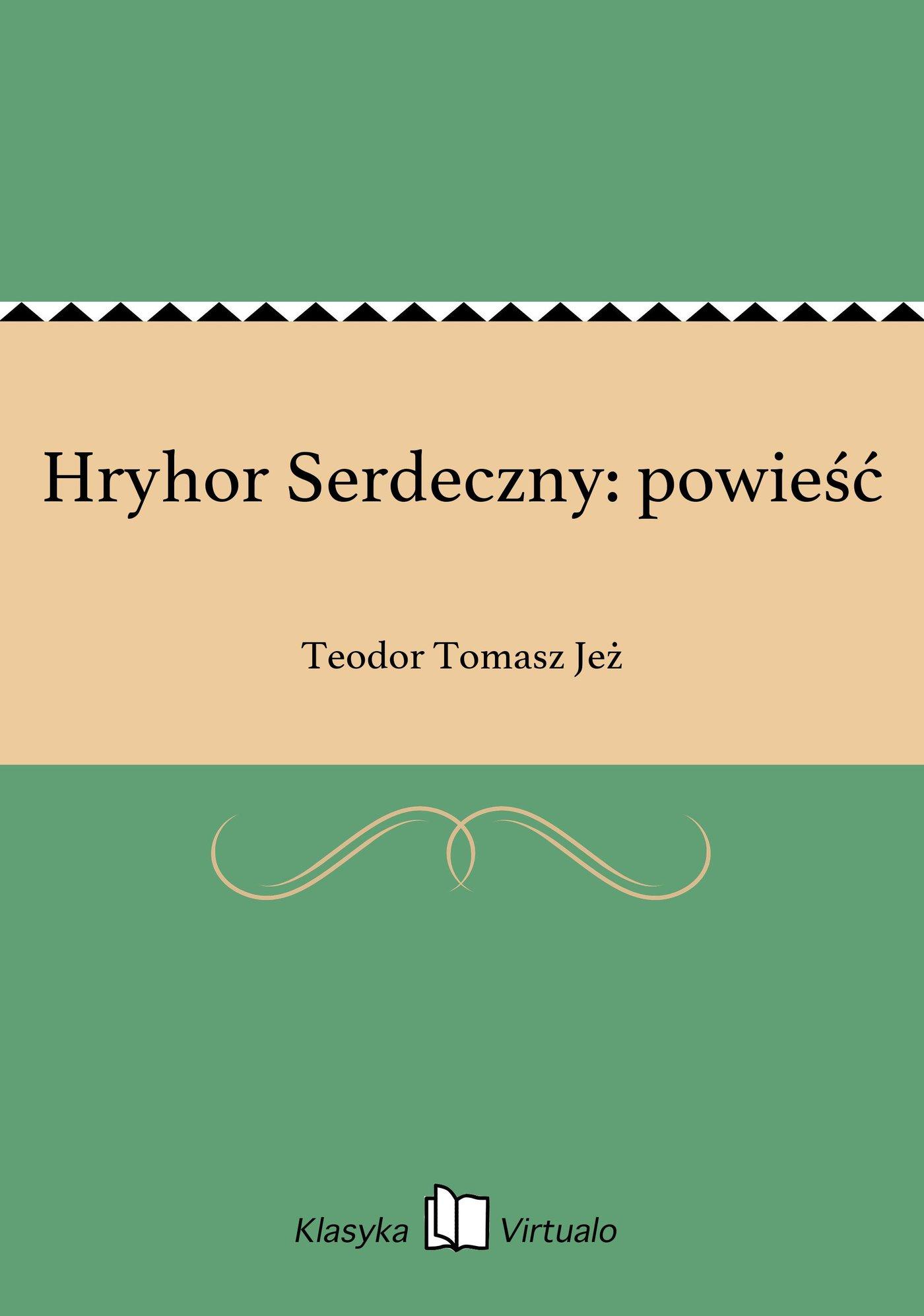 Hryhor Serdeczny: powieść - Ebook (Książka EPUB) do pobrania w formacie EPUB