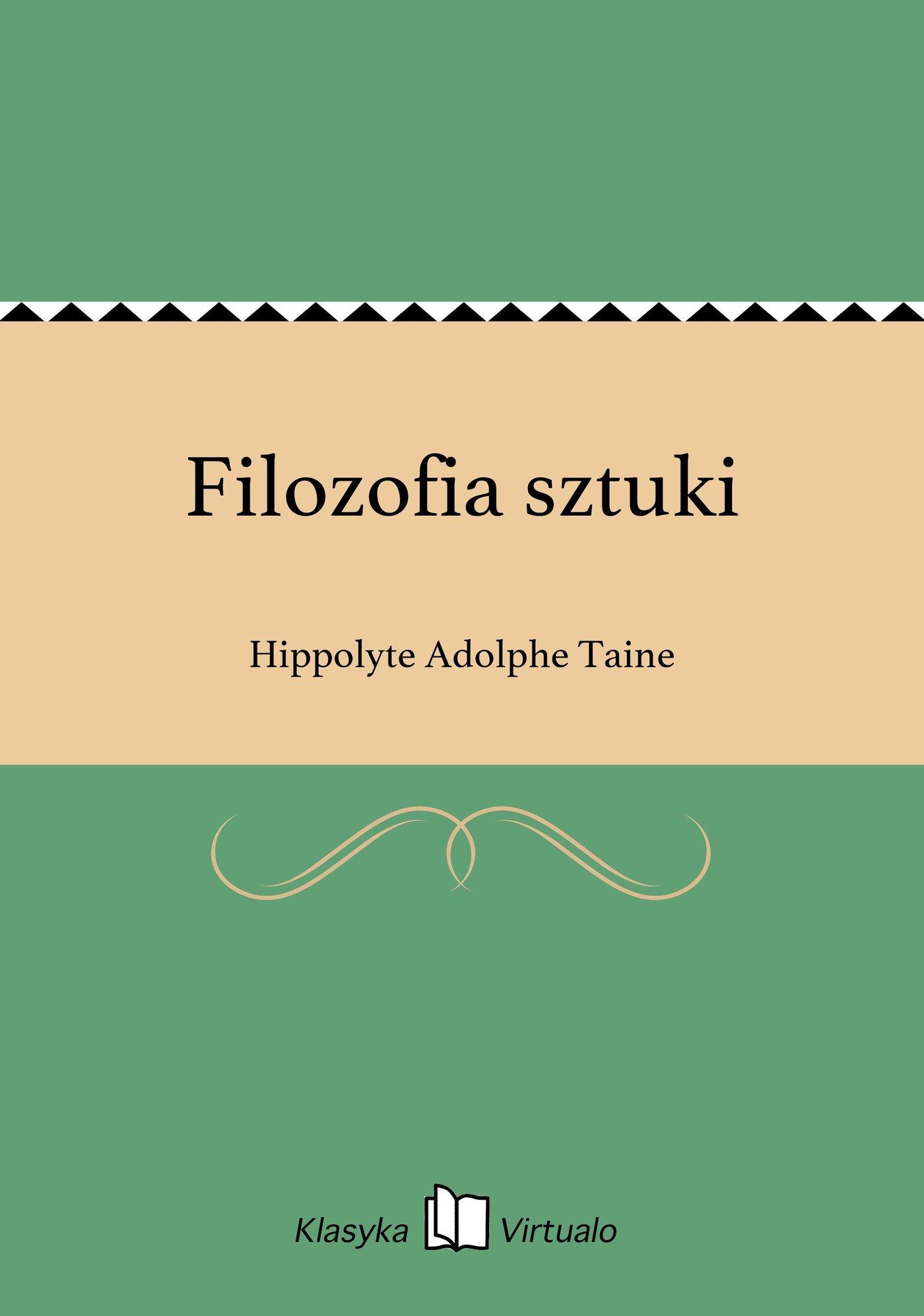 Filozofia sztuki - Ebook (Książka EPUB) do pobrania w formacie EPUB
