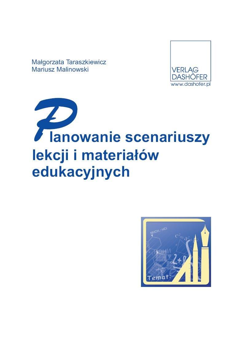 Planowanie scenariuszy lekcji i materiałów edukacyjnych - Ebook (Książka PDF) do pobrania w formacie PDF