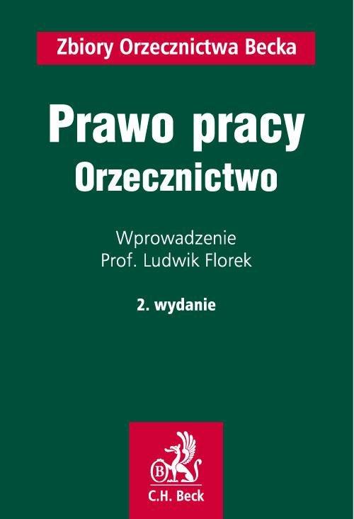 Prawo pracy. Orzecznictwo - Ebook (Książka PDF) do pobrania w formacie PDF