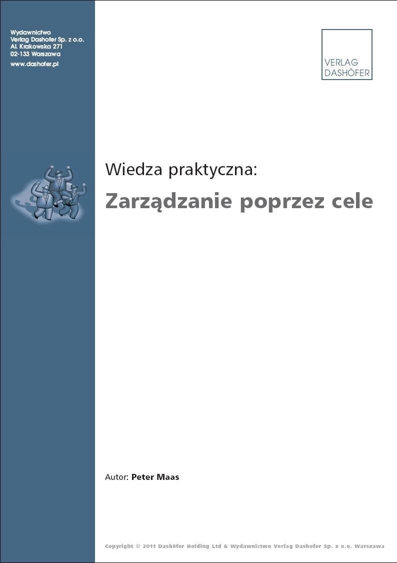 Zarządzanie poprzez cele - Ebook (Książka PDF) do pobrania w formacie PDF