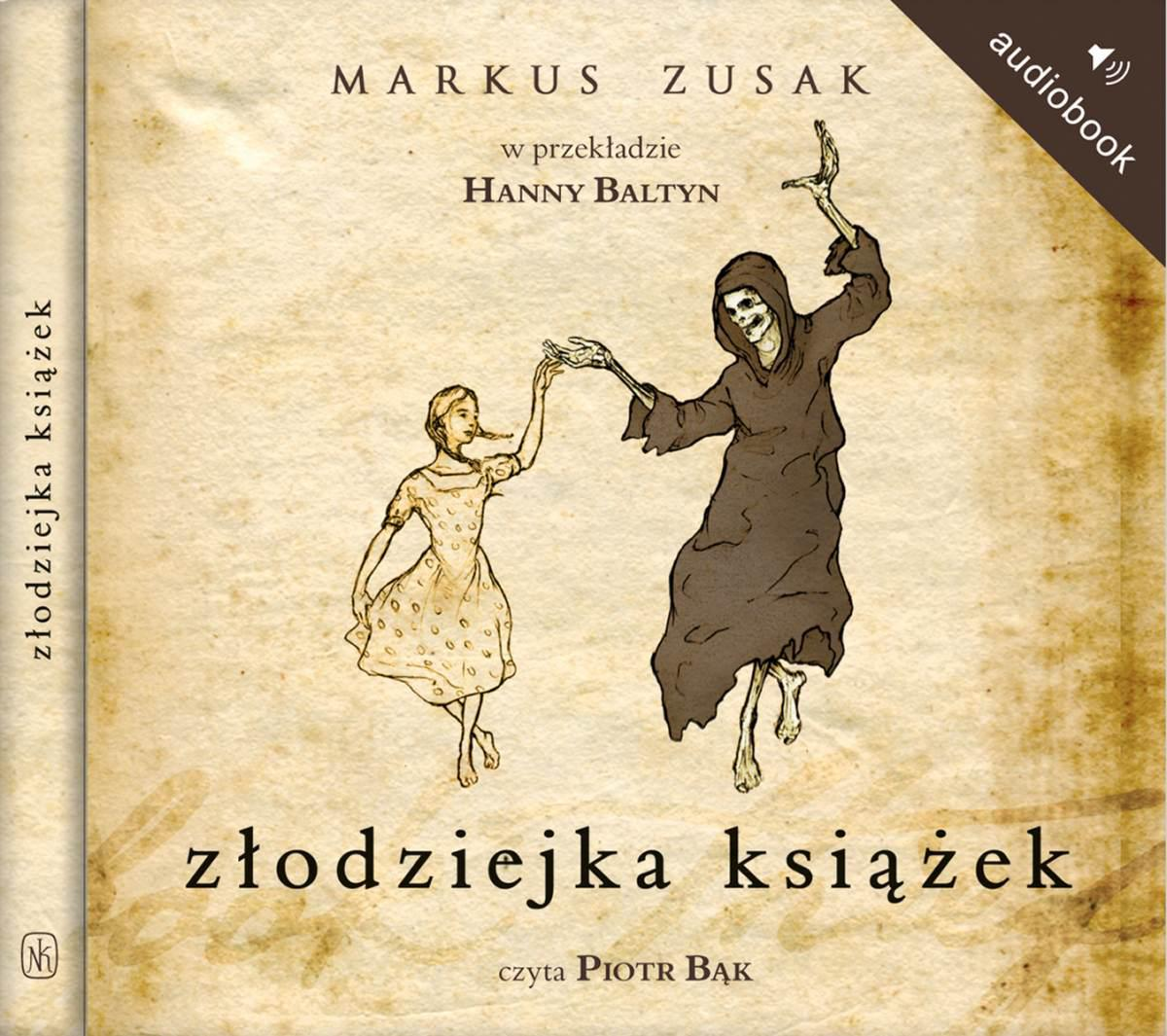 Złodziejka książek - Audiobook (Książka audio MP3) do pobrania w całości w archiwum ZIP