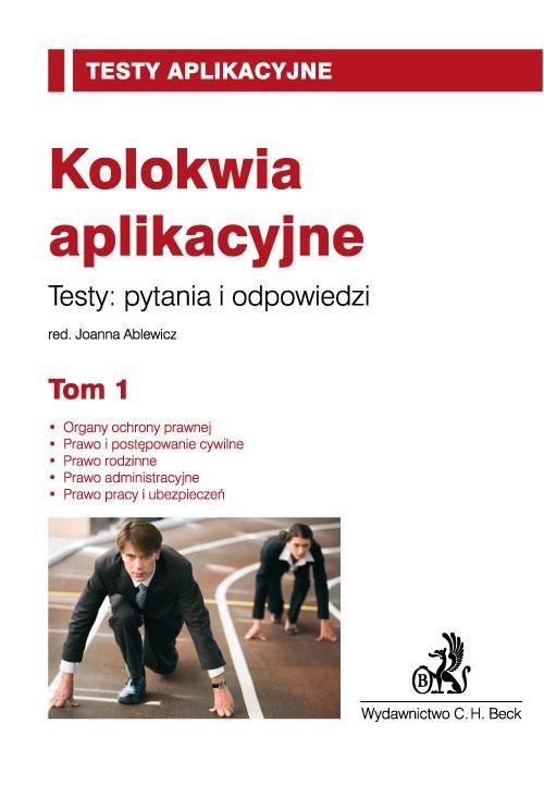 Kolokwia aplikacyjne. Tom 1 - Ebook (Książka PDF) do pobrania w formacie PDF