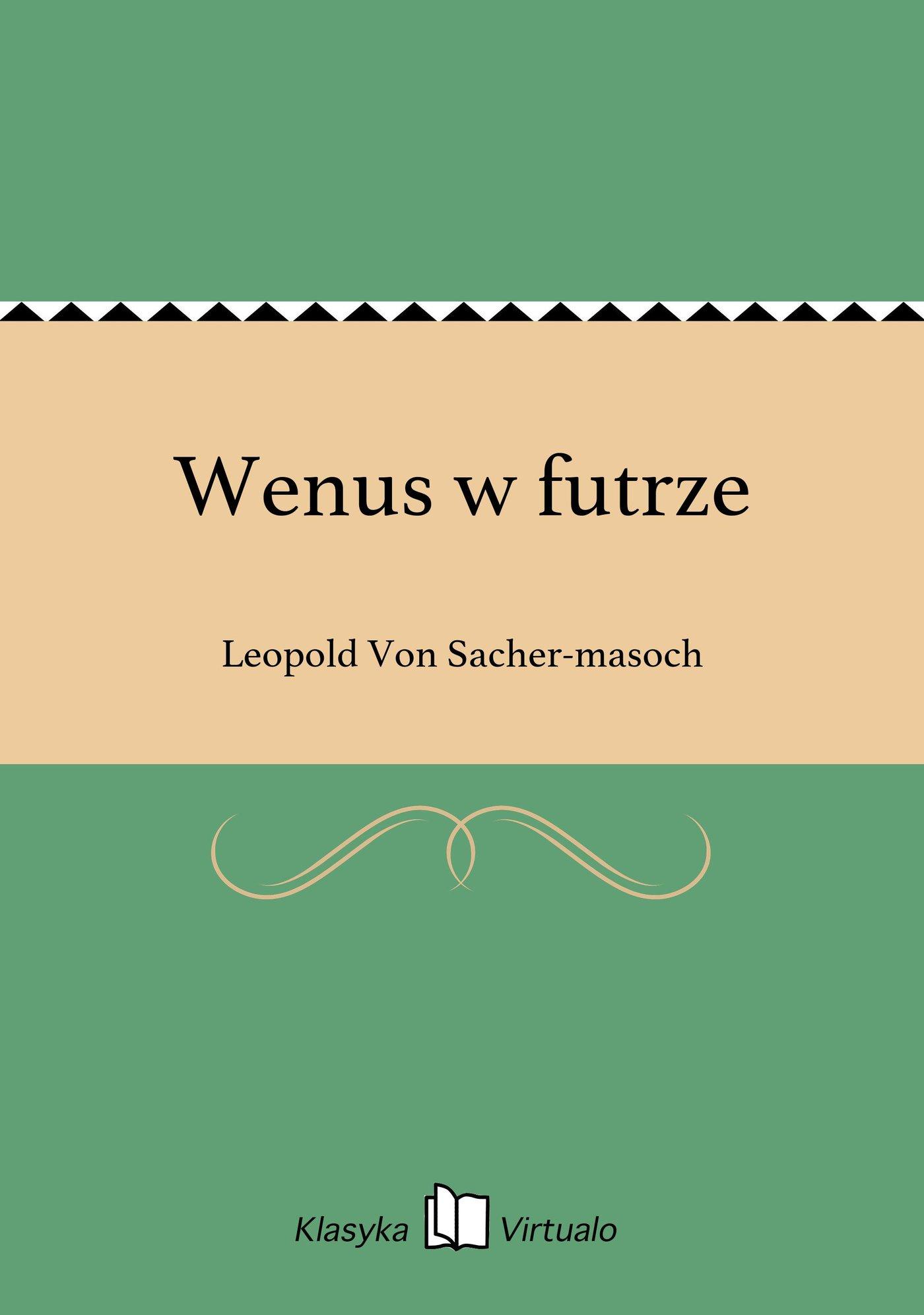 Wenus w futrze - Ebook (Książka na Kindle) do pobrania w formacie MOBI