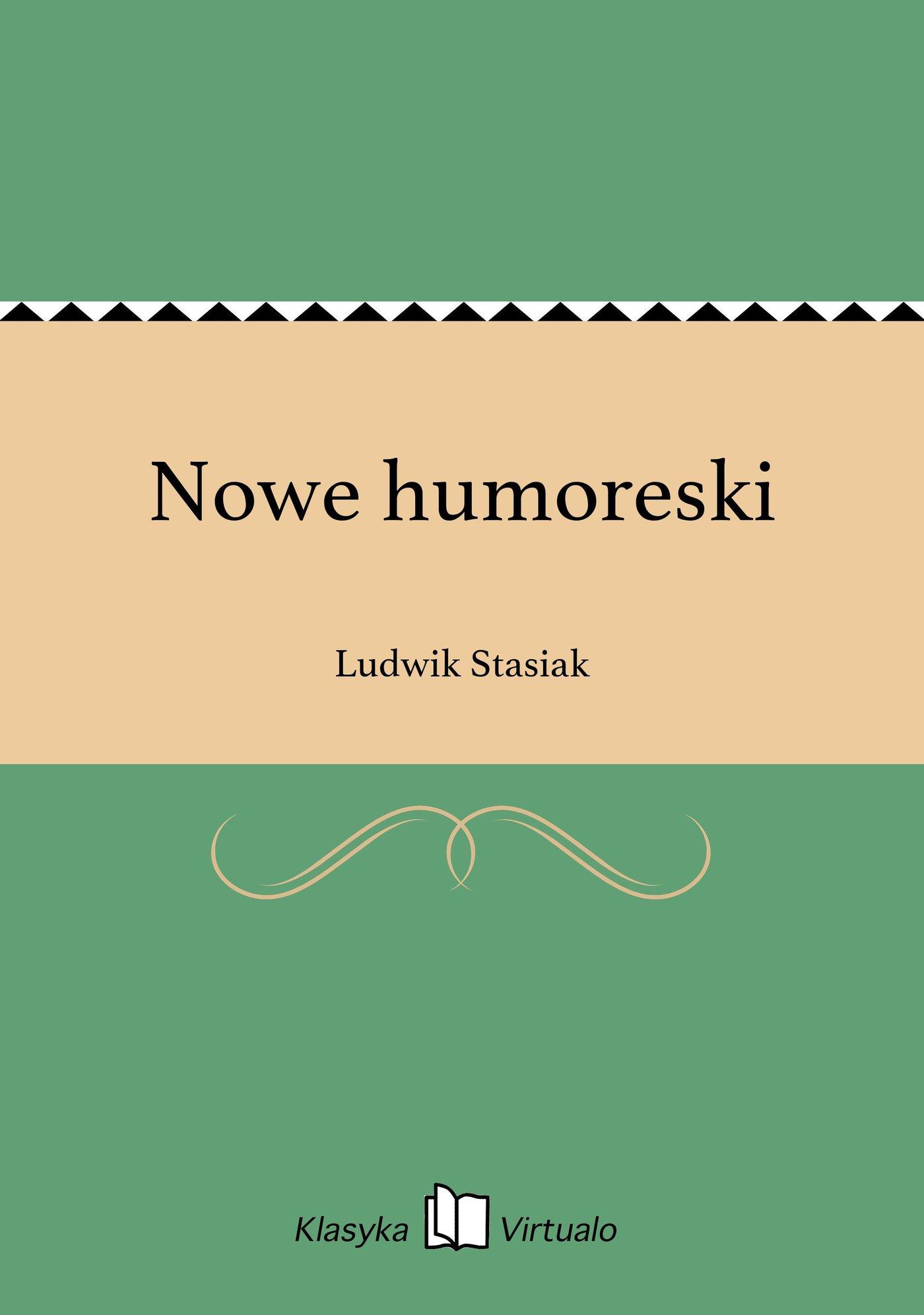 Nowe humoreski - Ebook (Książka na Kindle) do pobrania w formacie MOBI