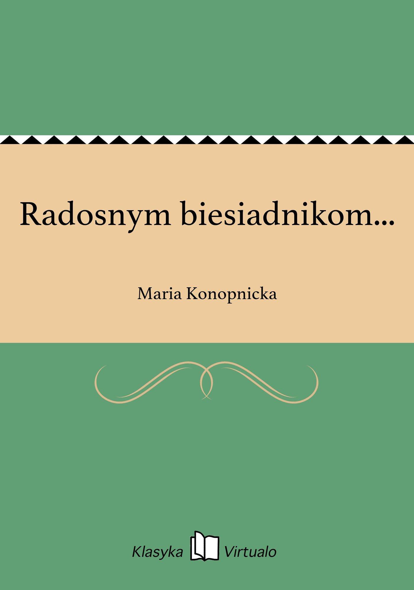 Radosnym biesiadnikom... - Ebook (Książka na Kindle) do pobrania w formacie MOBI
