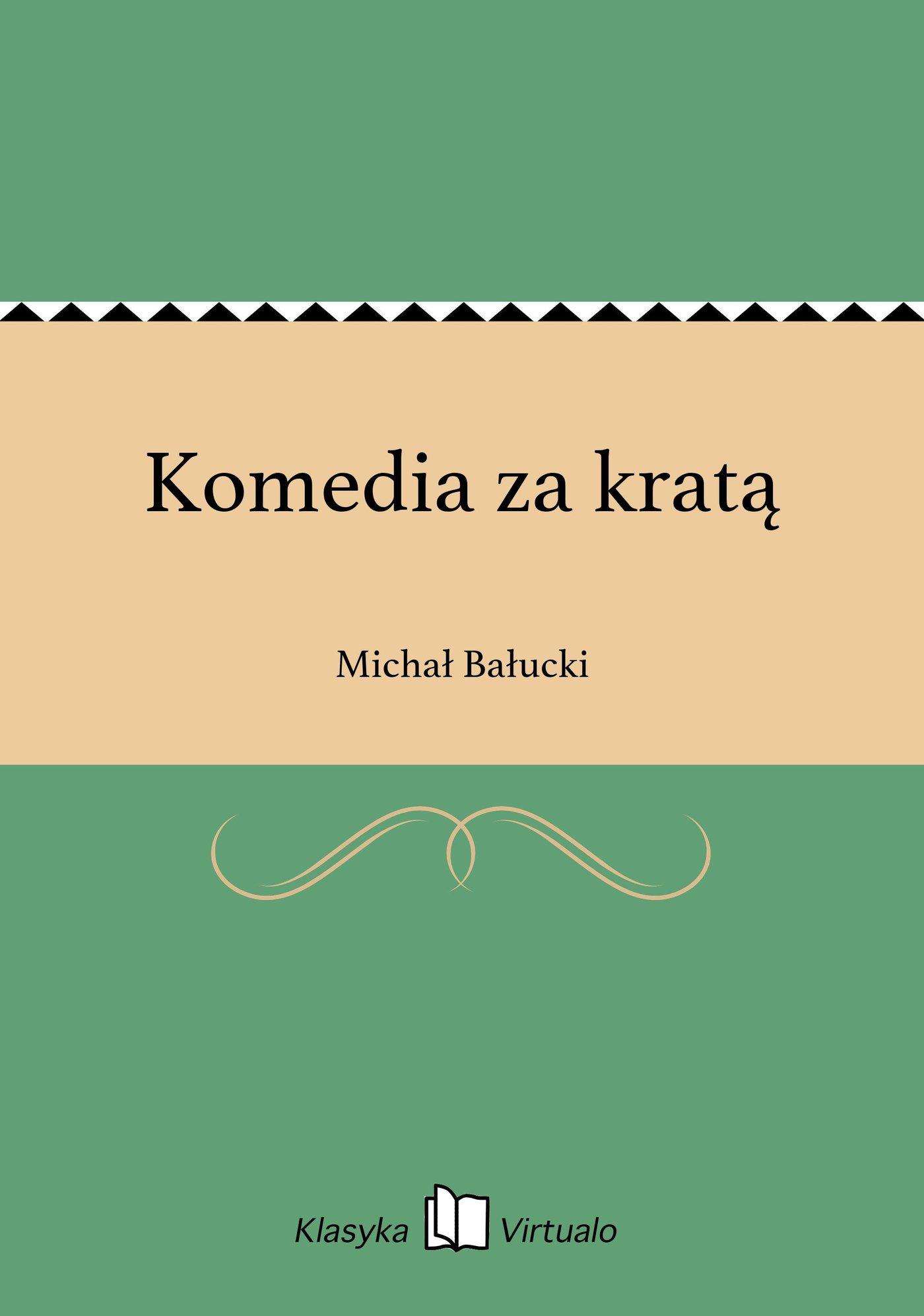 Komedia za kratą - Ebook (Książka na Kindle) do pobrania w formacie MOBI