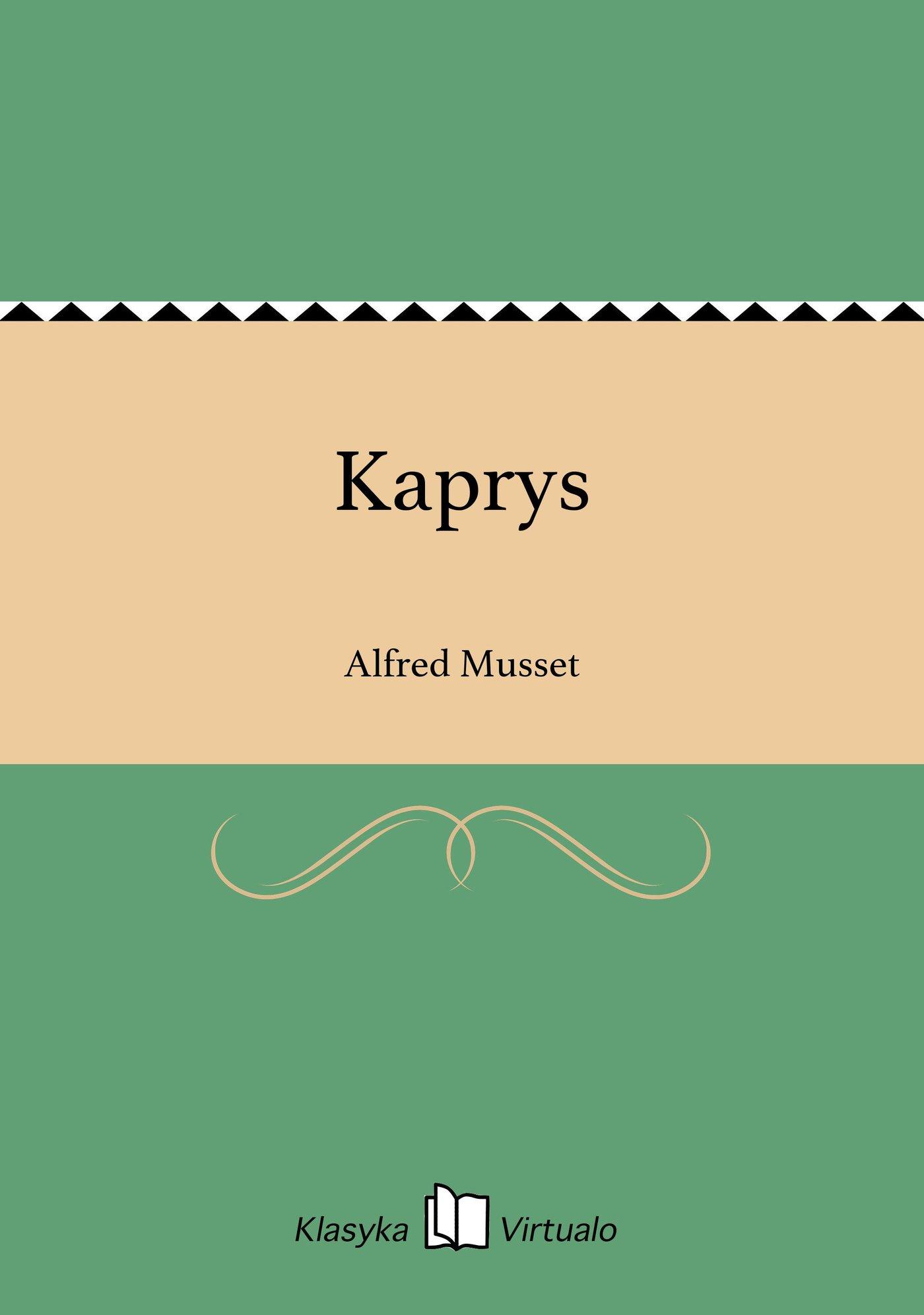 Kaprys - Ebook (Książka na Kindle) do pobrania w formacie MOBI