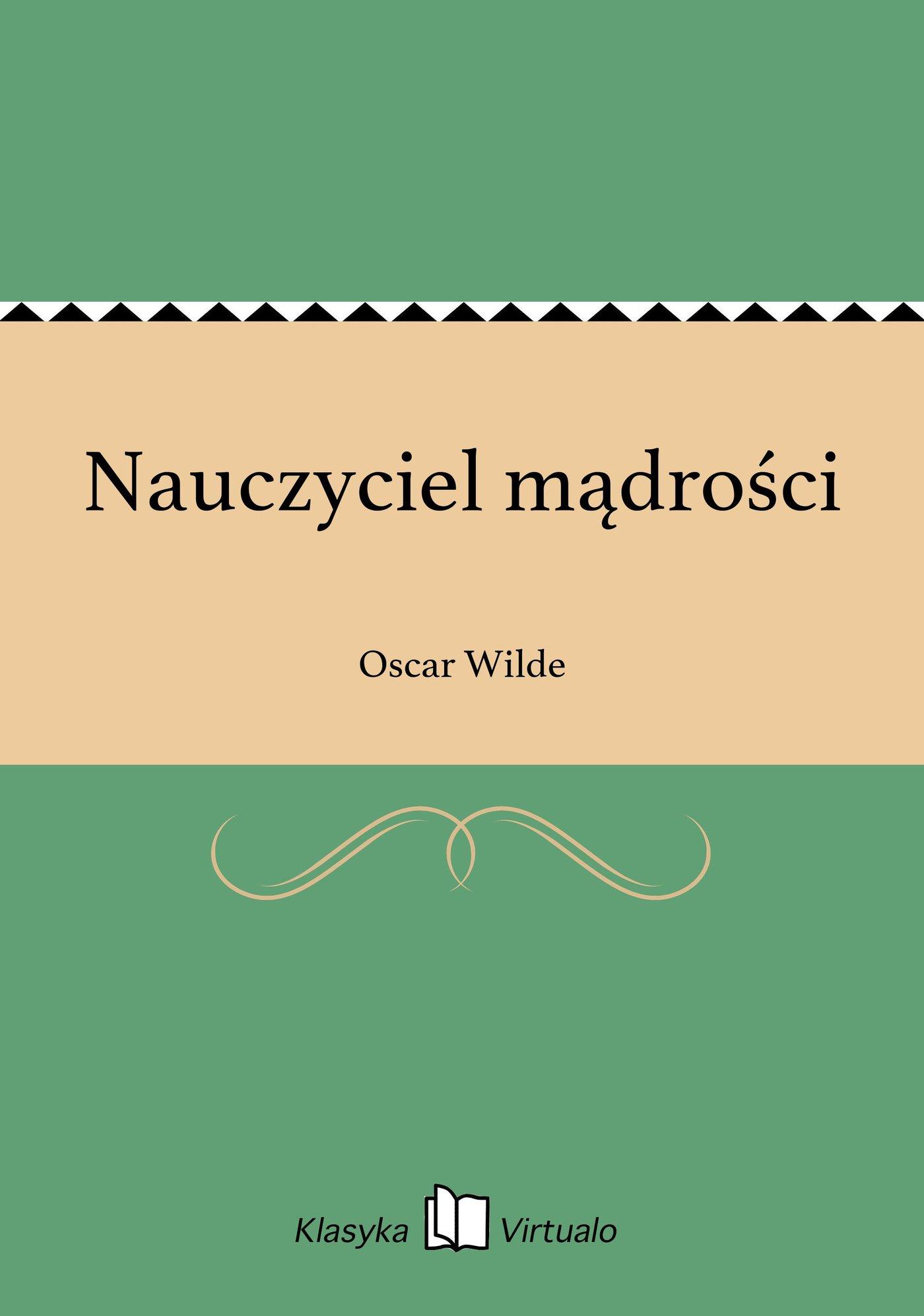 Nauczyciel mądrości - Ebook (Książka na Kindle) do pobrania w formacie MOBI