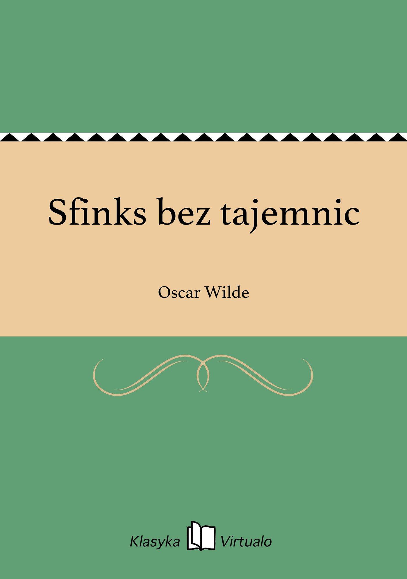 Sfinks bez tajemnic - Ebook (Książka na Kindle) do pobrania w formacie MOBI