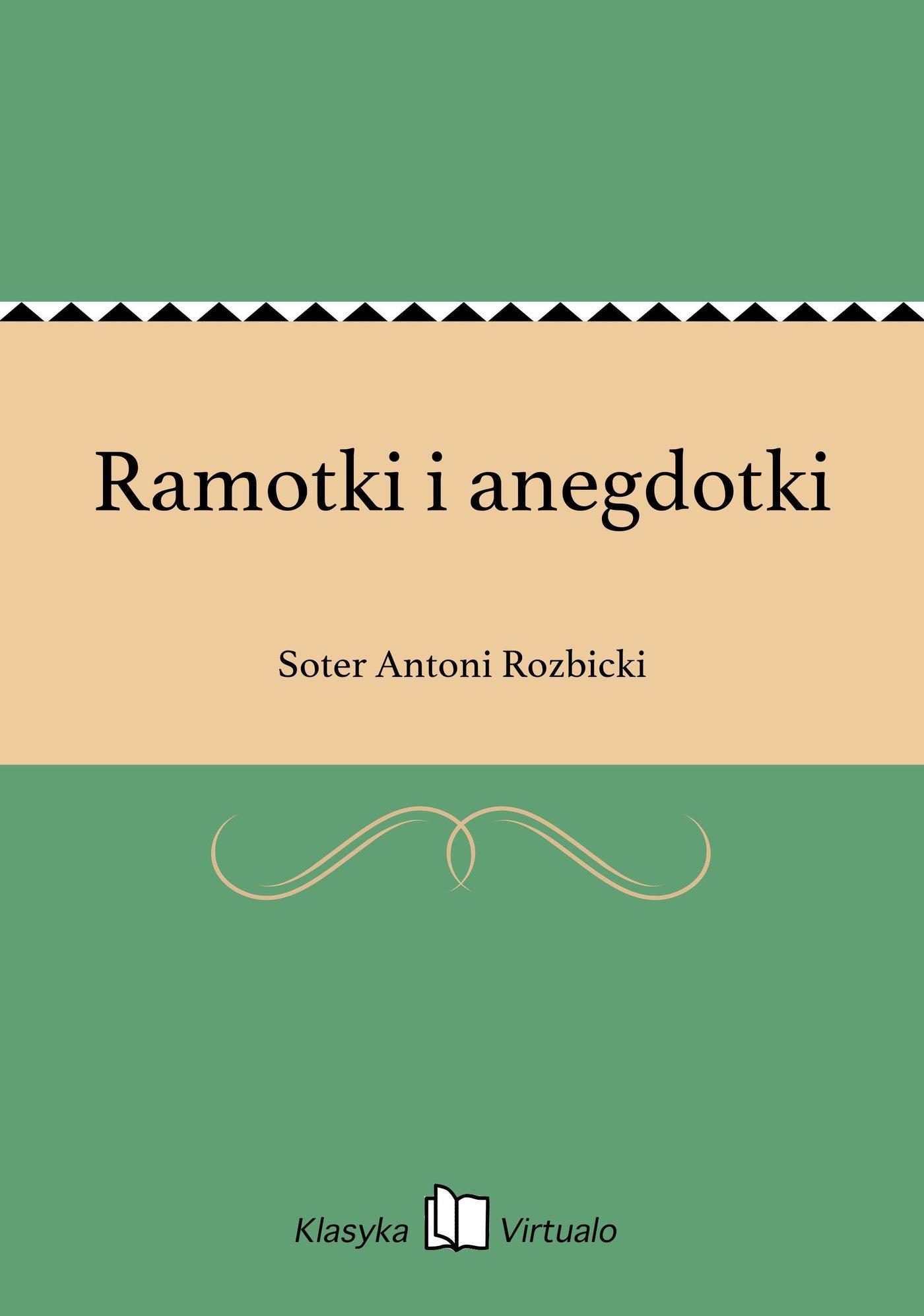 Ramotki i anegdotki - Ebook (Książka na Kindle) do pobrania w formacie MOBI