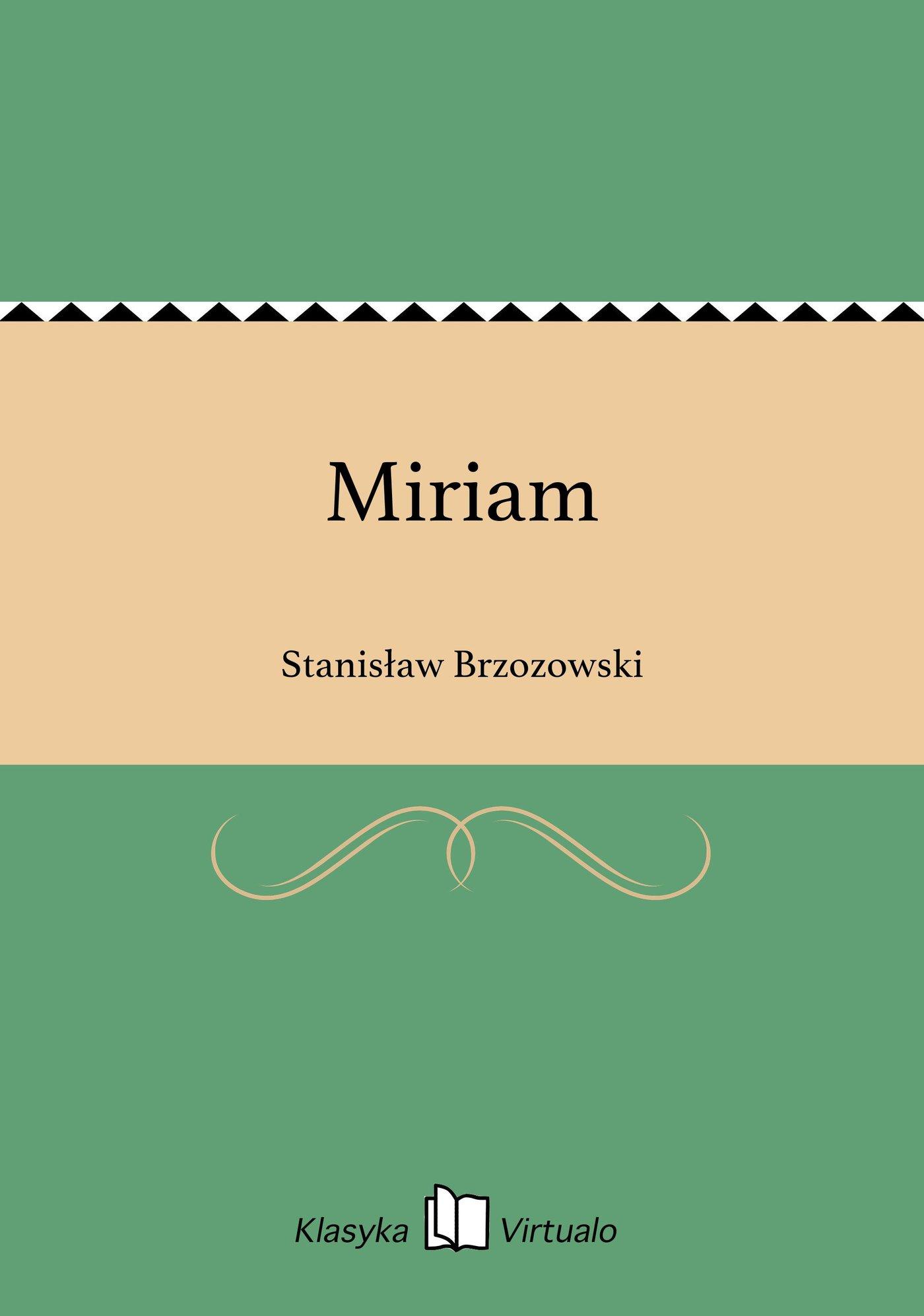 Miriam - Ebook (Książka na Kindle) do pobrania w formacie MOBI