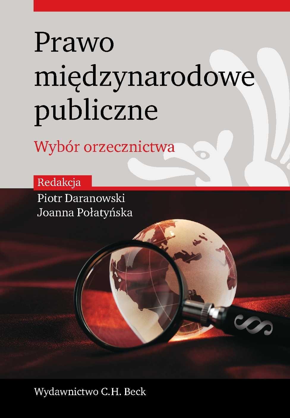 Prawo międzynarodowe publiczne. Wybór orzecznictwa - Ebook (Książka PDF) do pobrania w formacie PDF
