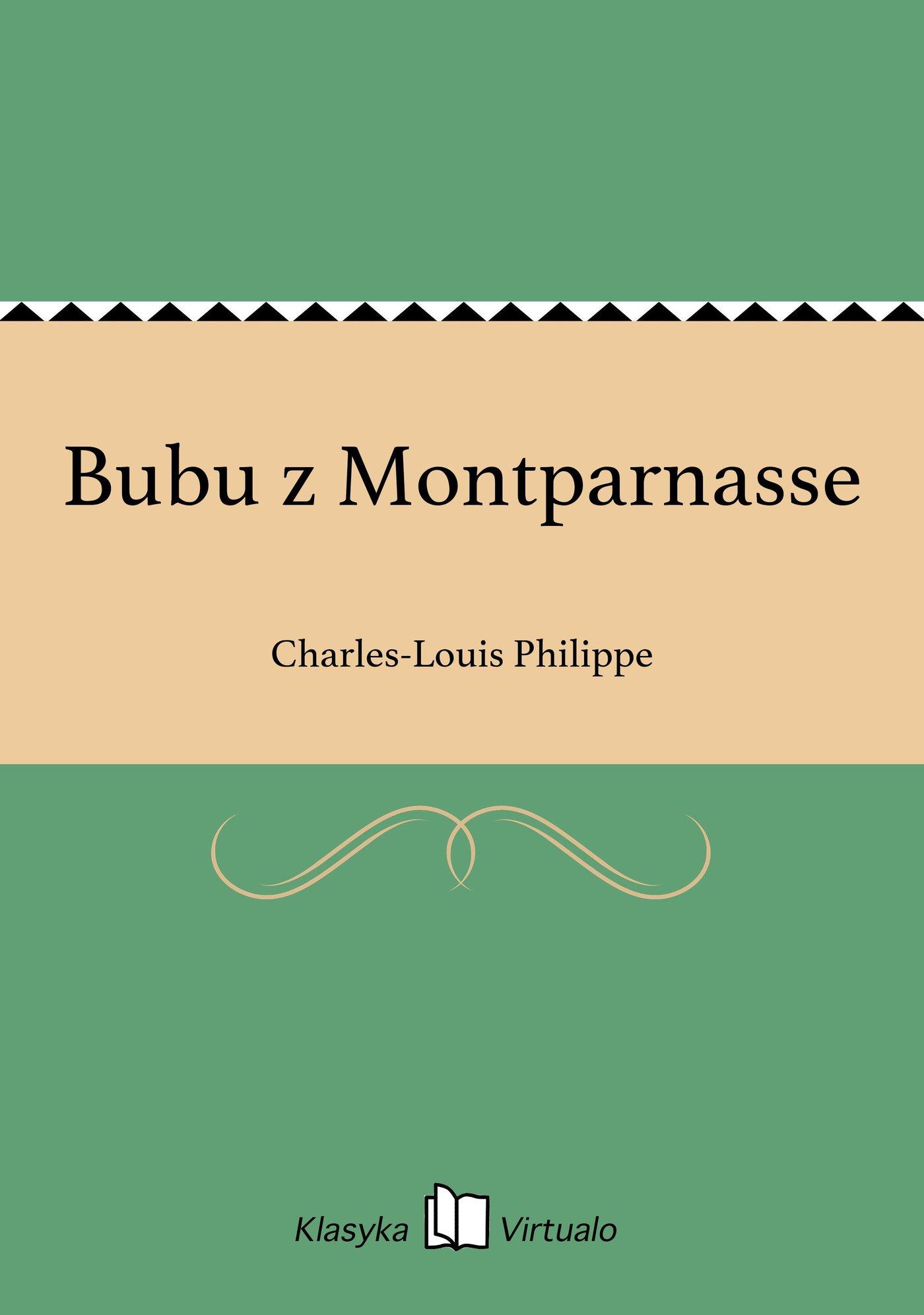 Bubu z Montparnasse - Ebook (Książka na Kindle) do pobrania w formacie MOBI