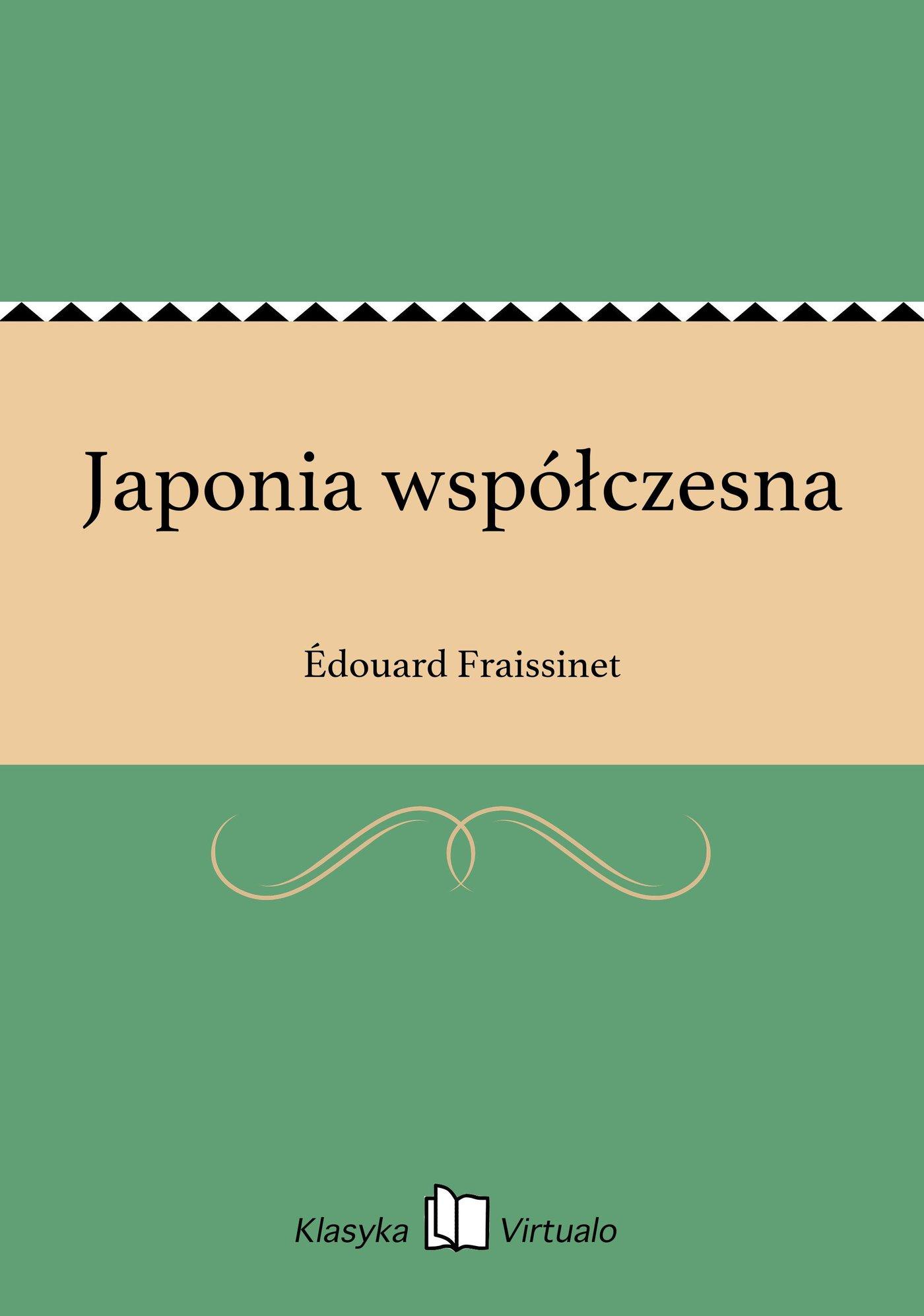 Japonia współczesna - Ebook (Książka na Kindle) do pobrania w formacie MOBI