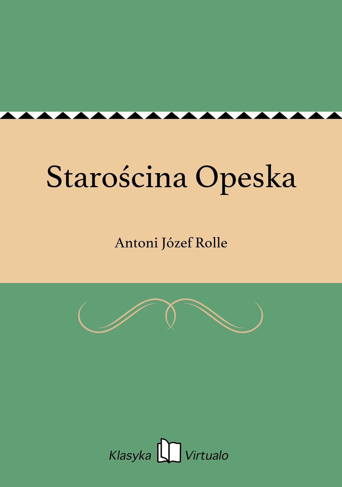 Starościna Opeska - Ebook (Książka na Kindle) do pobrania w formacie MOBI