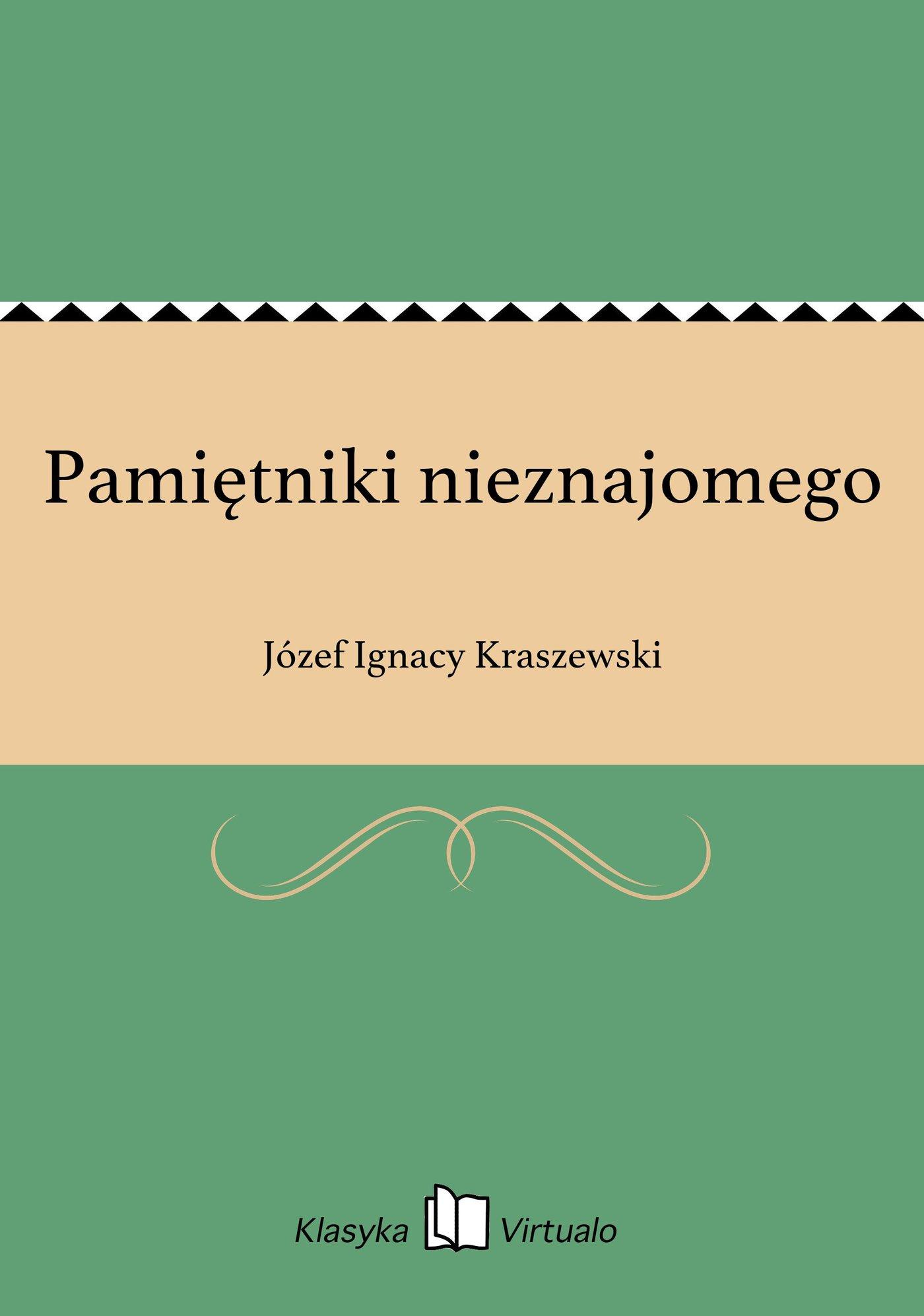 Pamiętniki nieznajomego - Ebook (Książka na Kindle) do pobrania w formacie MOBI