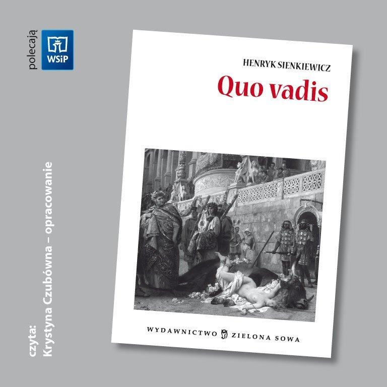 Quo vadis - opracowanie audio - Audiobook (Książka audio MP3) do pobrania w całości w archiwum ZIP