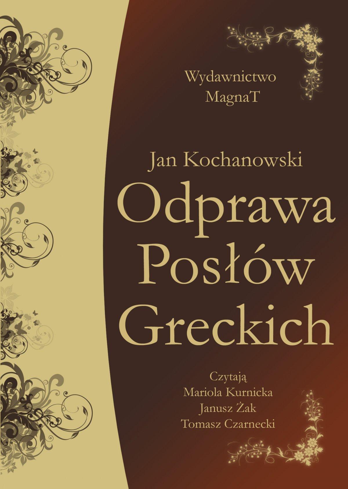 Odprawa Posłów Greckich - Audiobook (Książka audio MP3) do pobrania w całości w archiwum ZIP