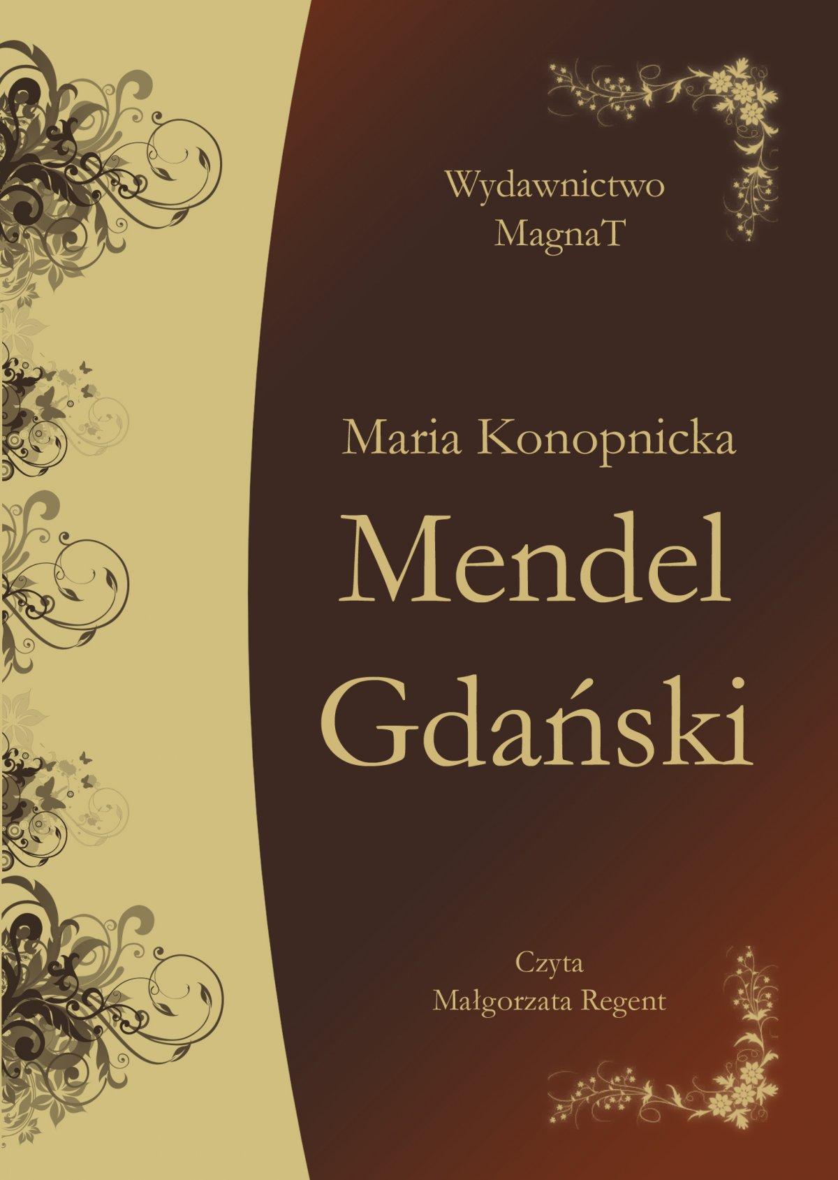 Mendel Gdański - Audiobook (Książka audio MP3) do pobrania w całości w archiwum ZIP