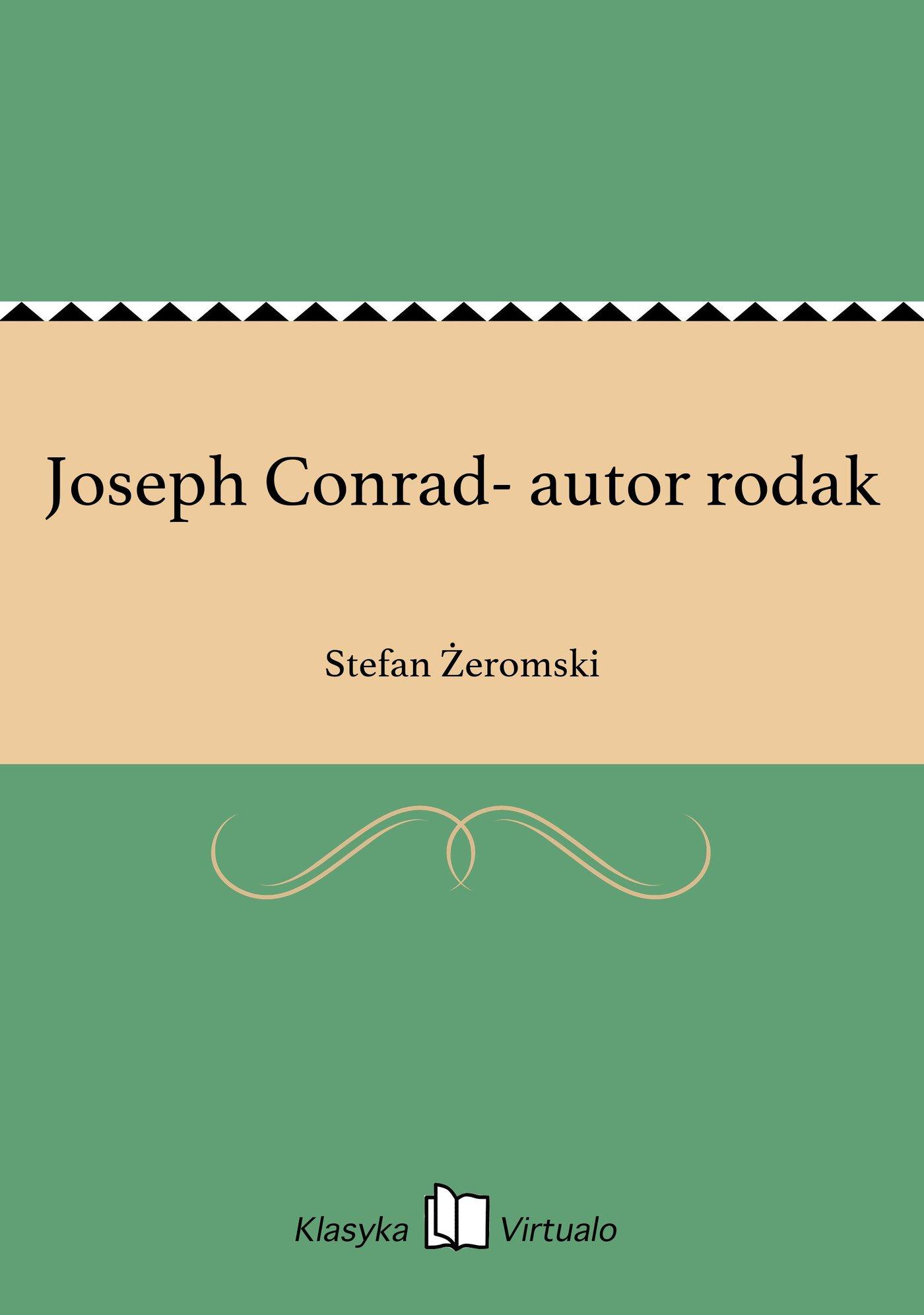 Joseph Conrad- autor rodak - Ebook (Książka na Kindle) do pobrania w formacie MOBI