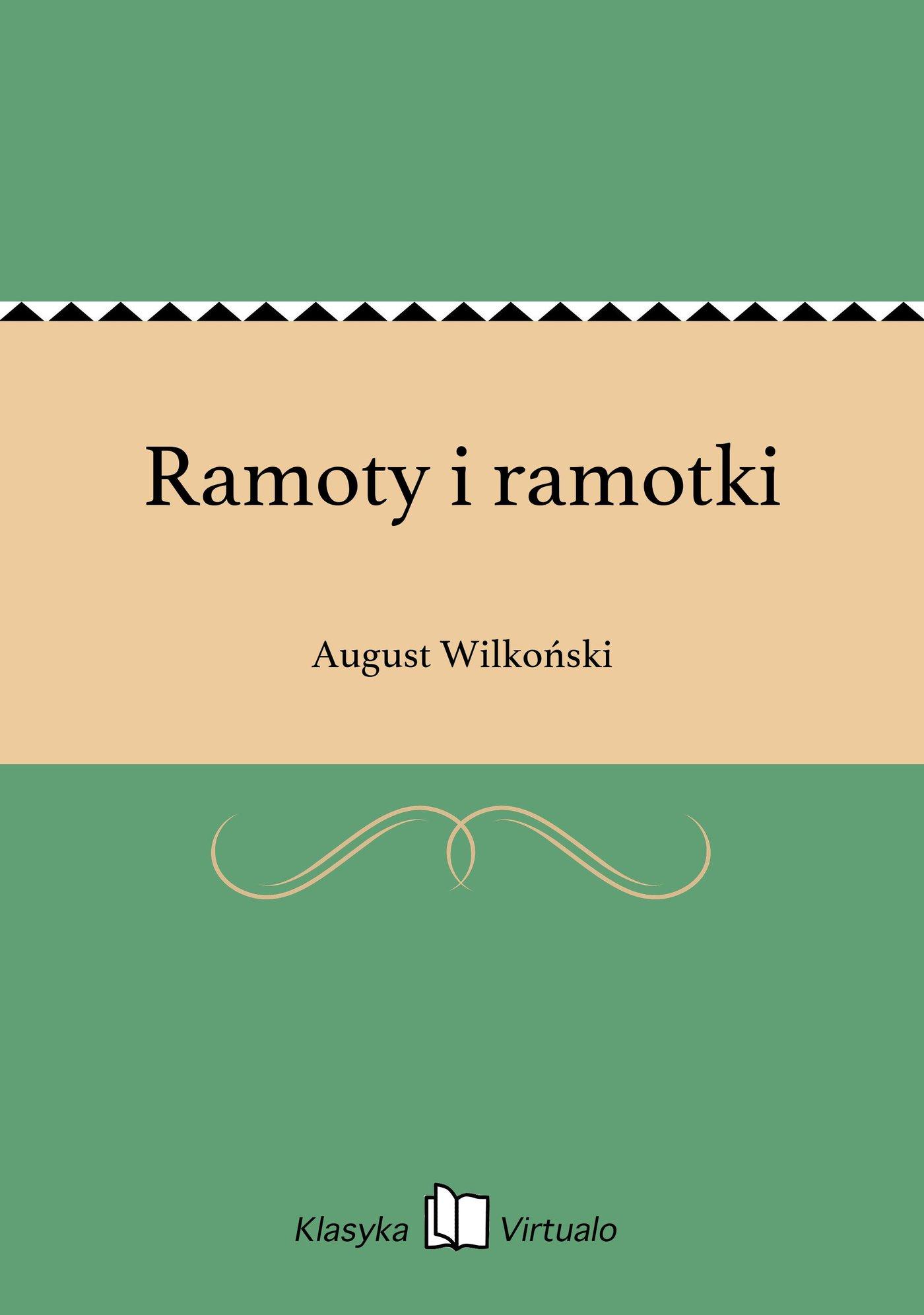 Ramoty i ramotki - Ebook (Książka na Kindle) do pobrania w formacie MOBI