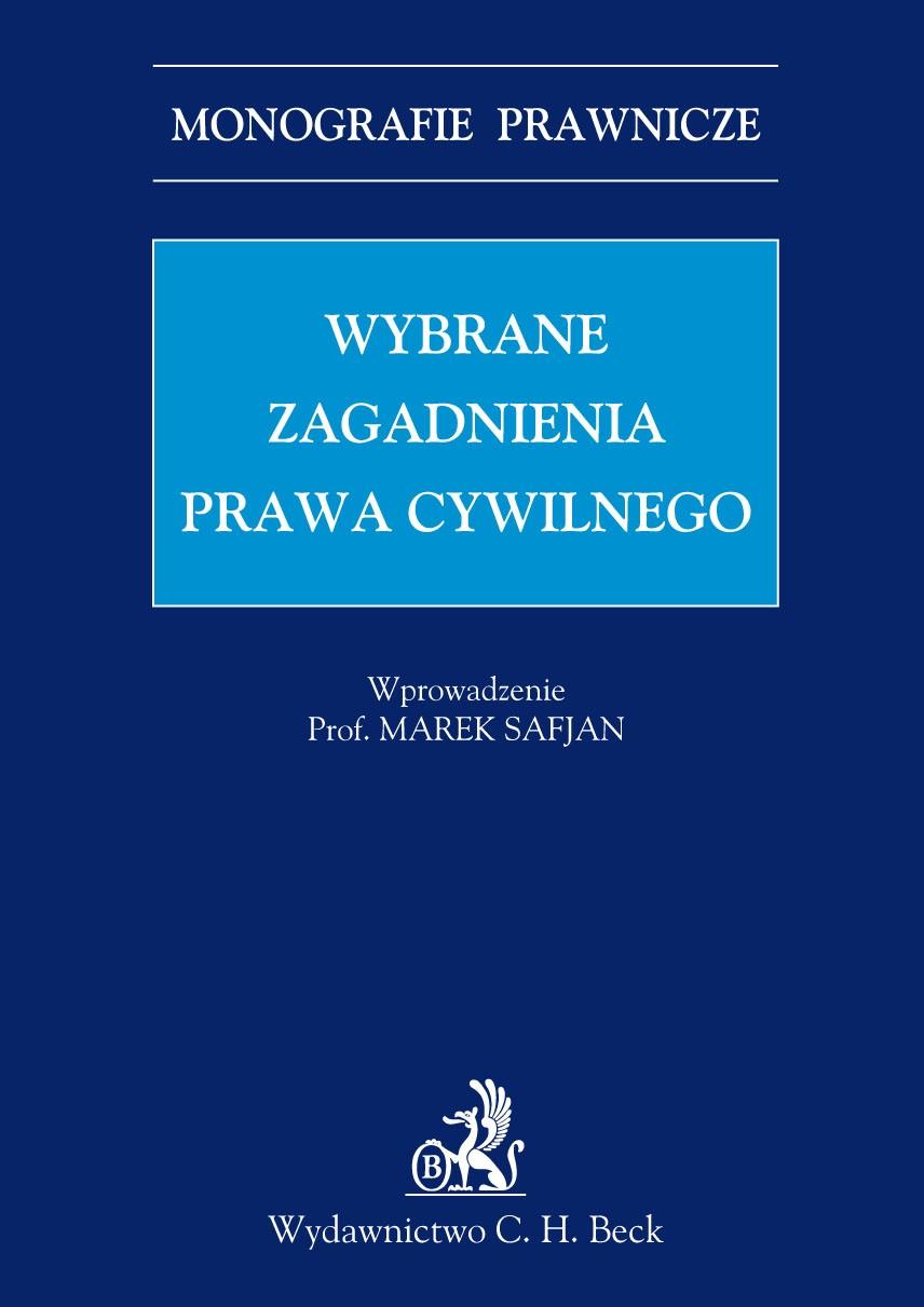 Wybrane zagadnienia prawa cywilnego - Ebook (Książka PDF) do pobrania w formacie PDF