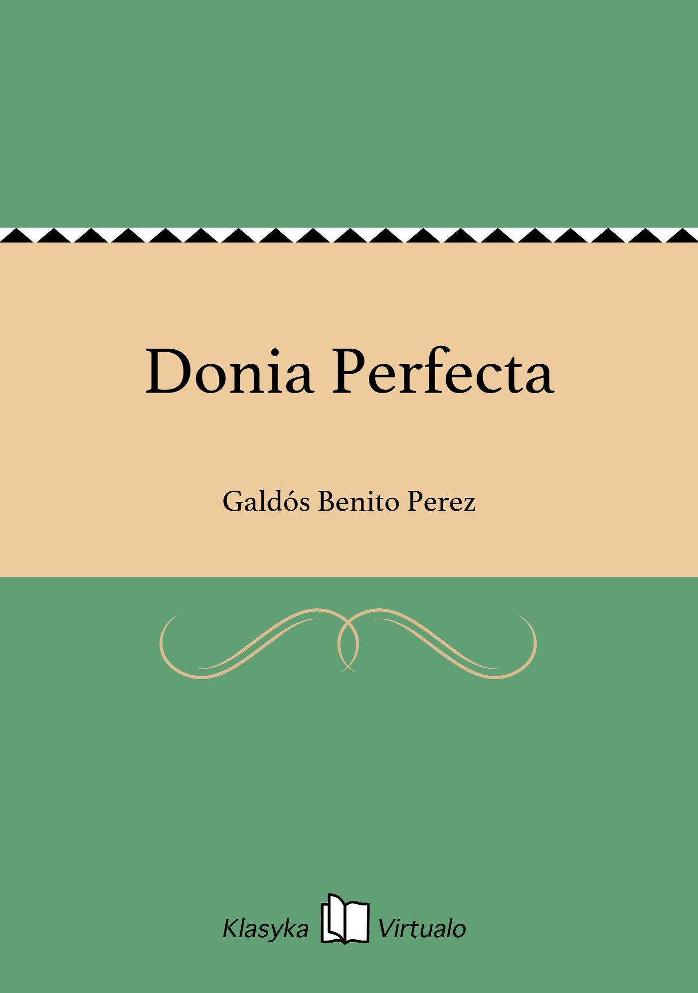Donia Perfecta - Ebook (Książka na Kindle) do pobrania w formacie MOBI