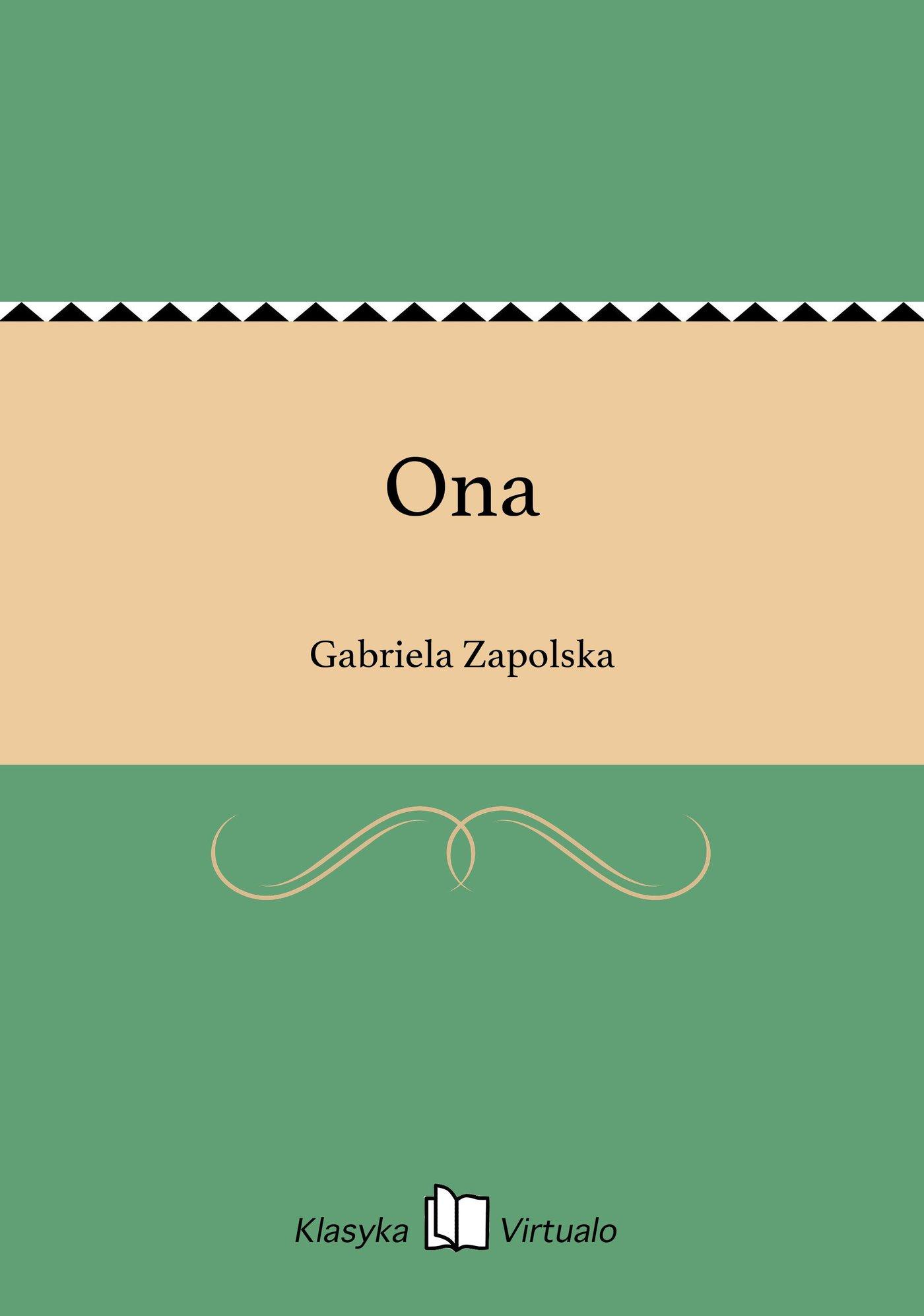 Ona - Ebook (Książka na Kindle) do pobrania w formacie MOBI