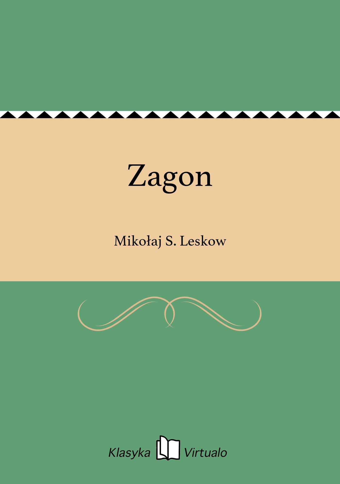 Zagon - Ebook (Książka na Kindle) do pobrania w formacie MOBI
