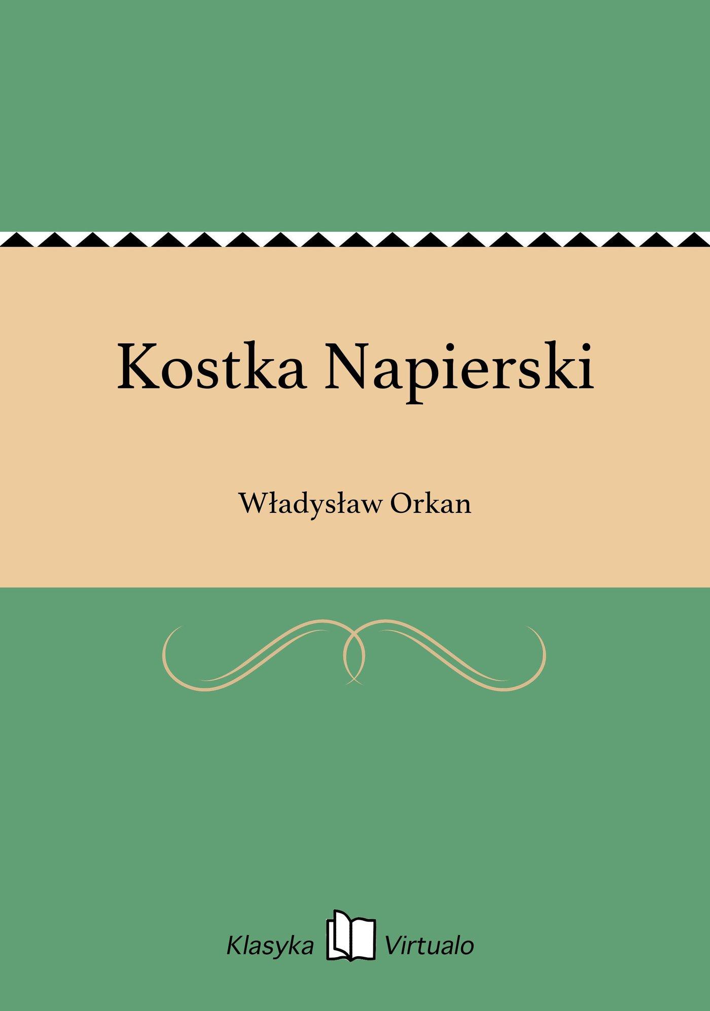 Kostka Napierski - Ebook (Książka na Kindle) do pobrania w formacie MOBI